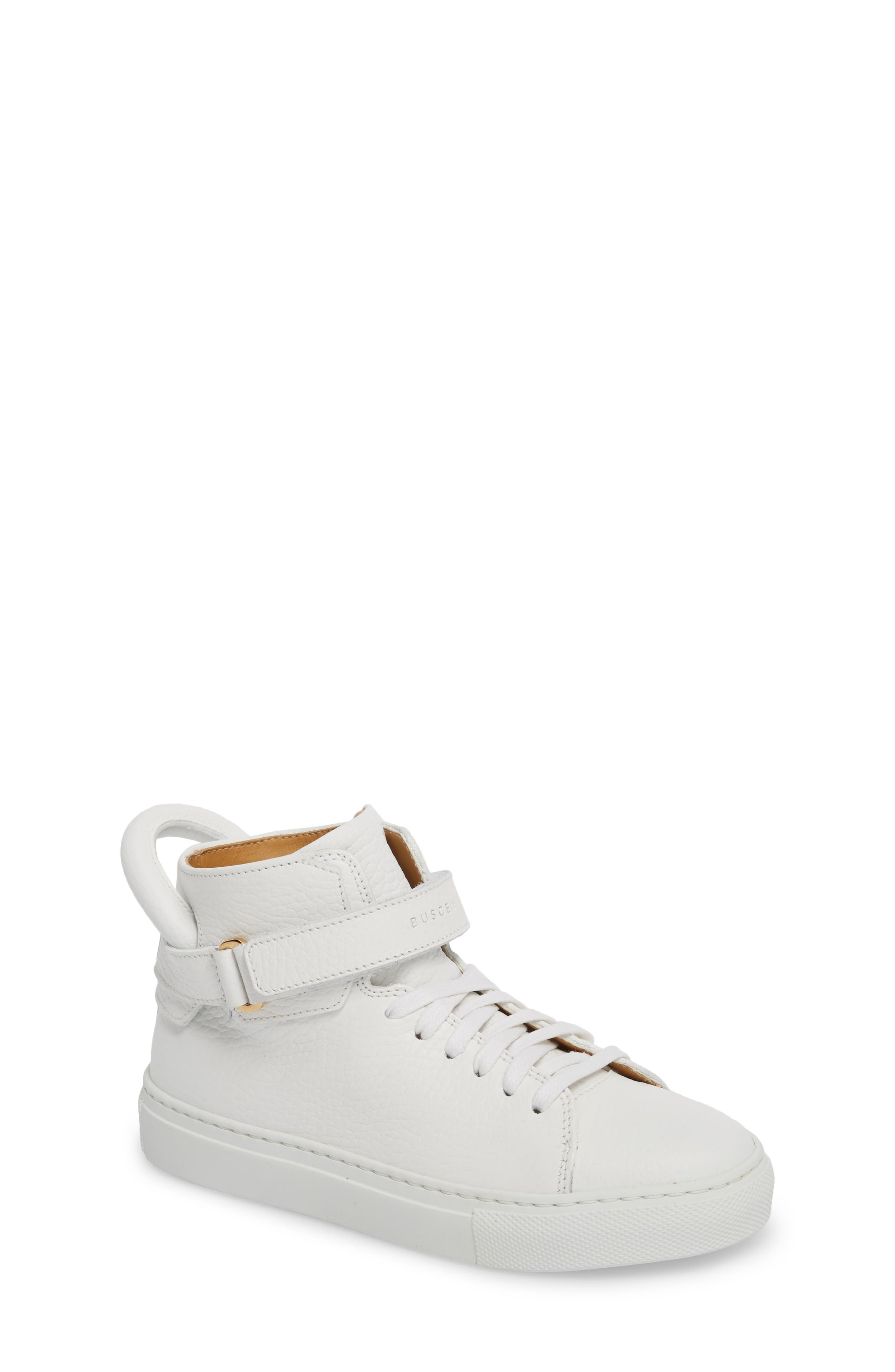 Buscemi High Top Sneaker (Toddler & Little Kit)