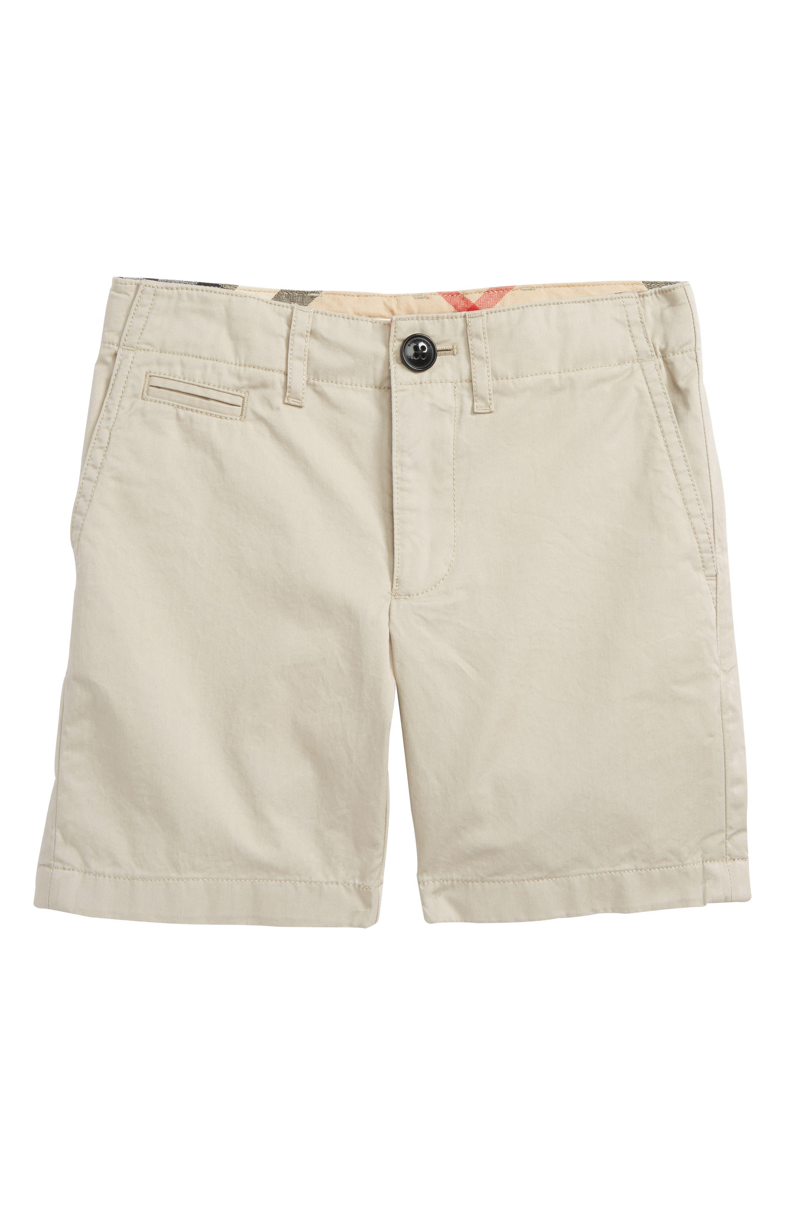 Alternate Image 1 Selected - Burberry Tristen Shorts (Little Boys & Big Boys)
