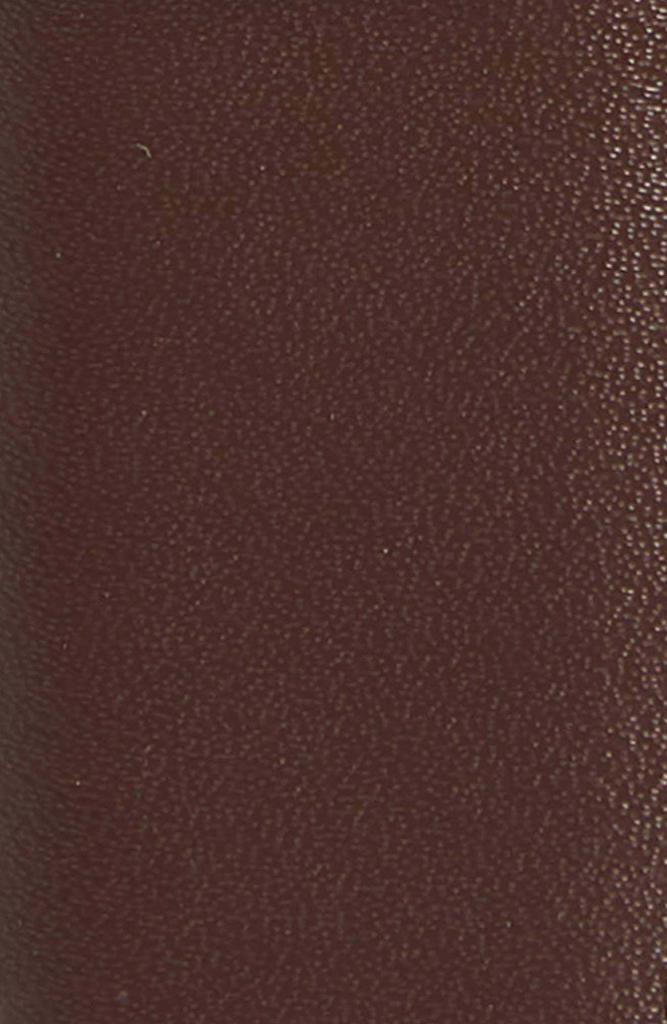 Newman Reversible Leather Belt,                             Alternate thumbnail 3, color,                             Black/ Brown