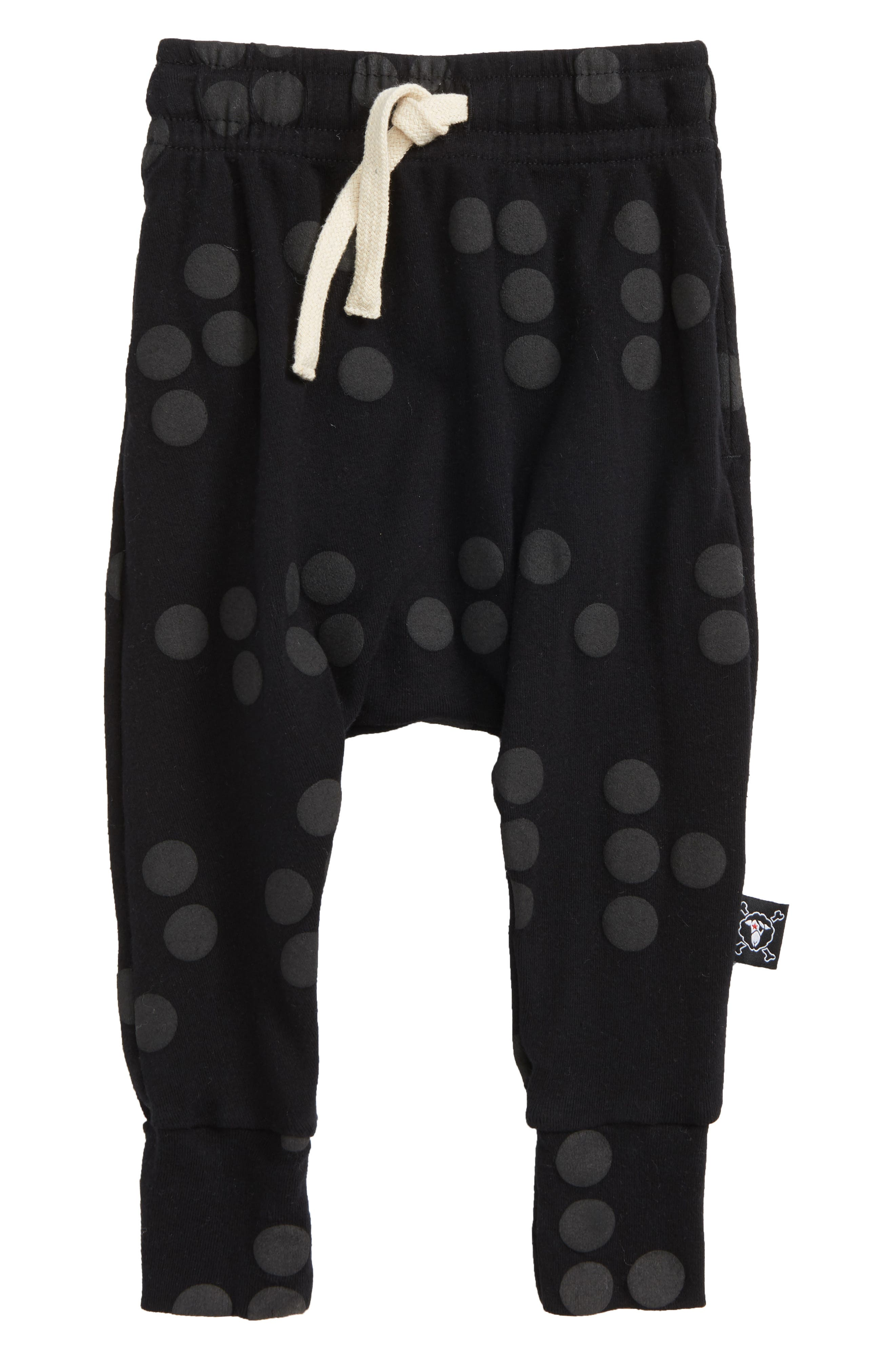 Braille Dot Jogger Pants,                             Main thumbnail 1, color,                             Black