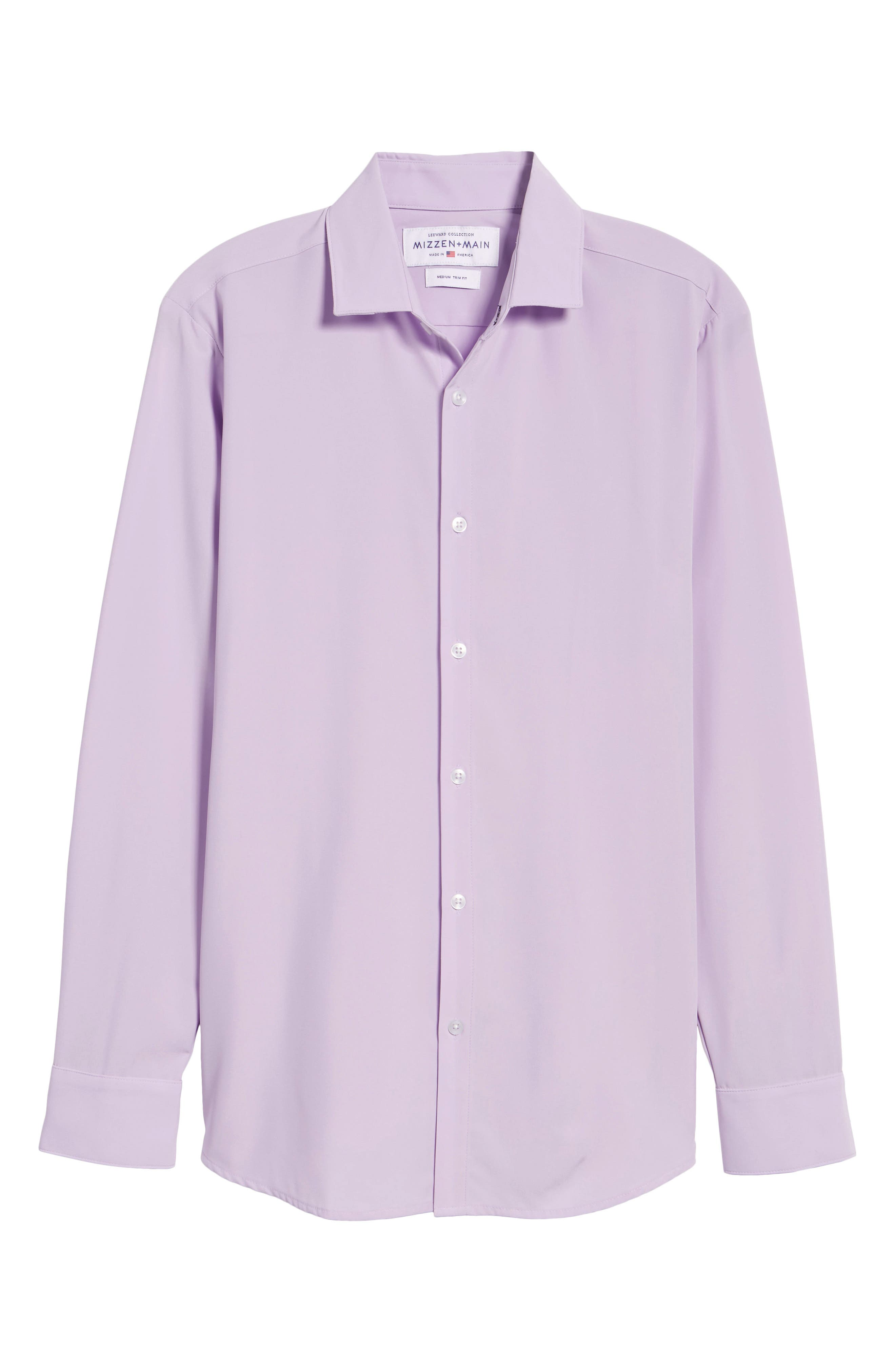 Henderson Performance Sport Shirt,                             Alternate thumbnail 6, color,                             Purple