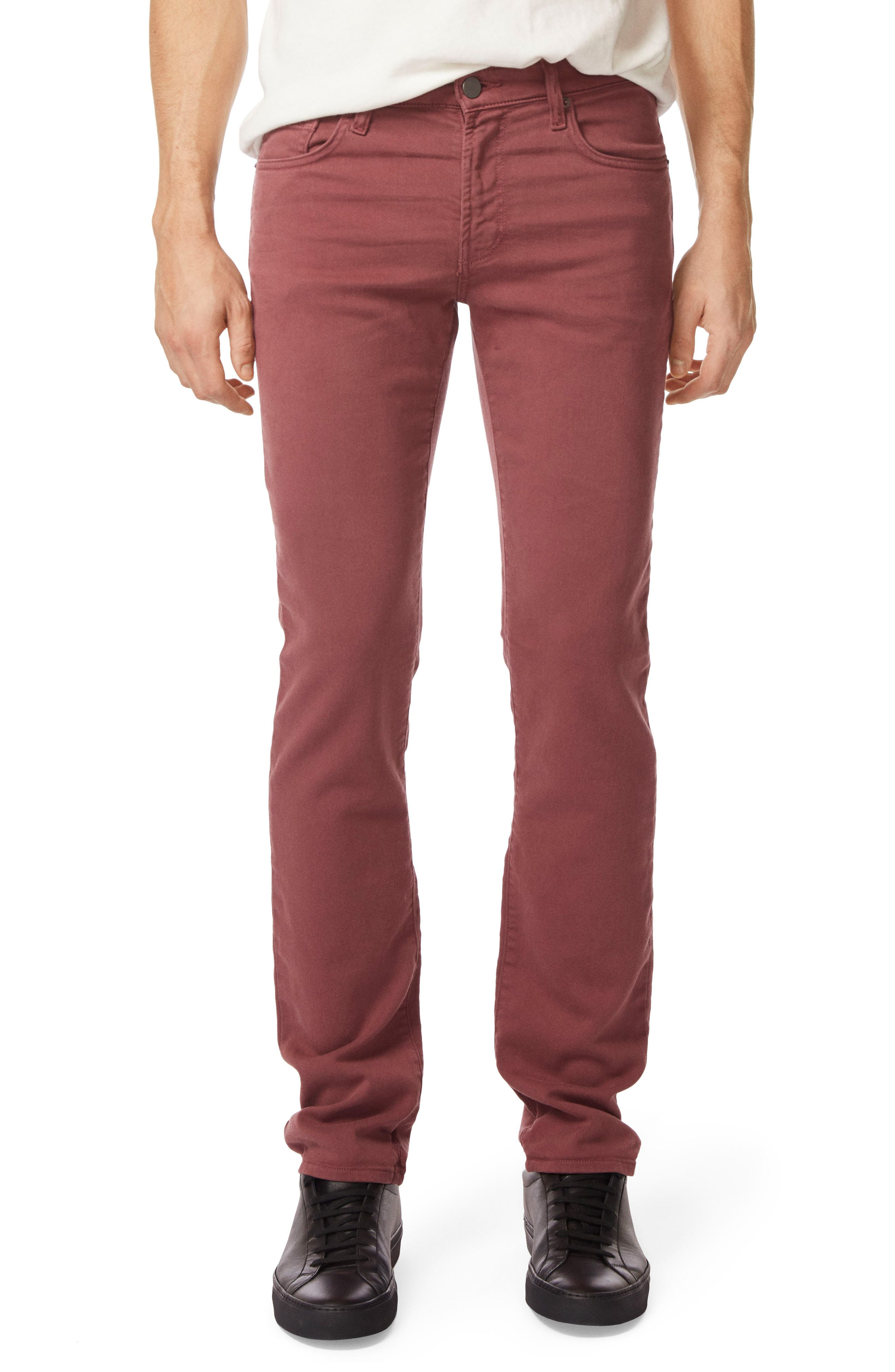 Kane Slim Straight Leg Pants,                         Main,                         color, Keckley Basella