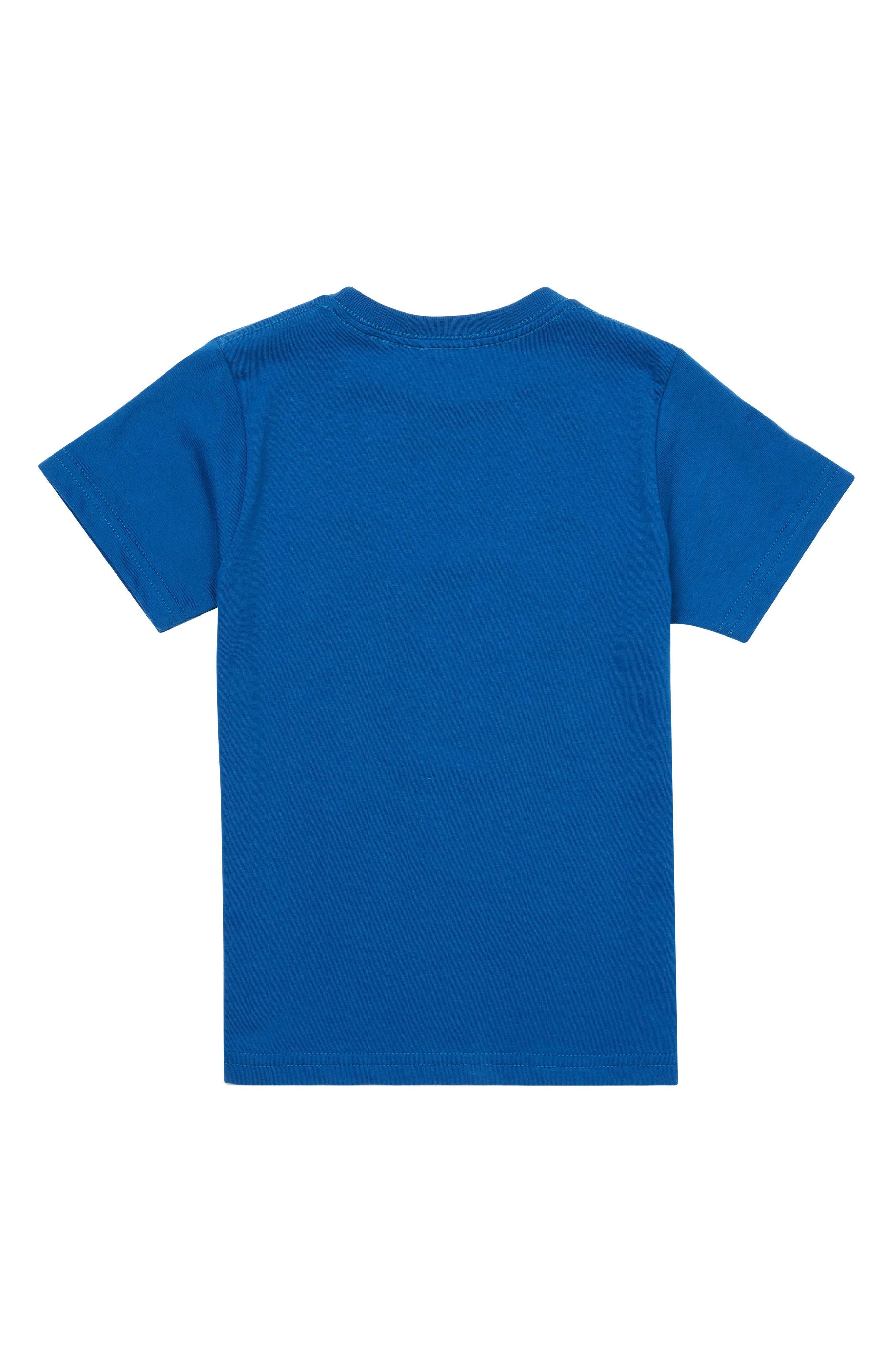 Digi Pool Graphic T-Shirt,                             Alternate thumbnail 2, color,                             Camper Blue