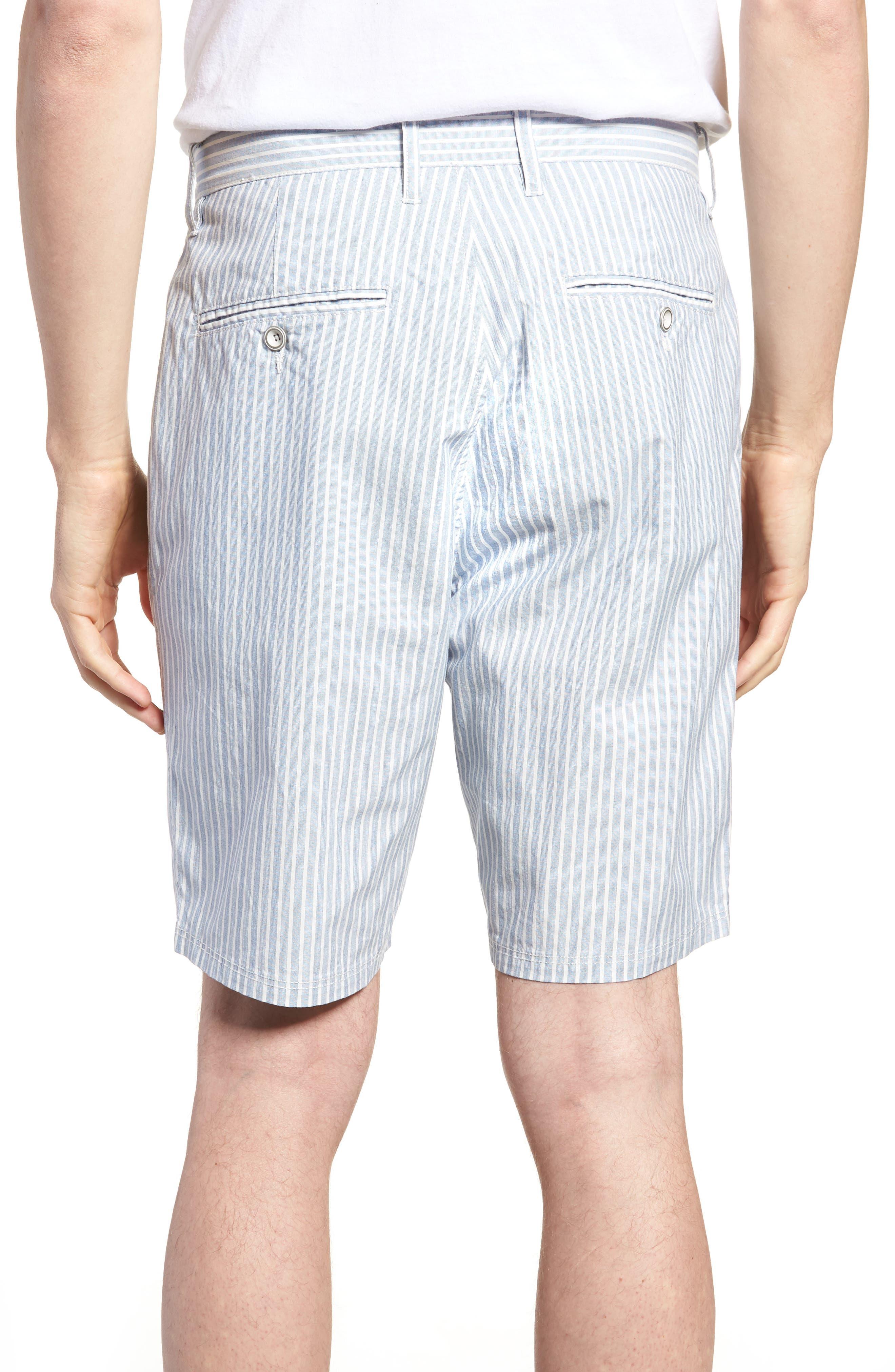 Preston Regular Fit Flat Front Shorts,                             Alternate thumbnail 2, color,                             Pacific