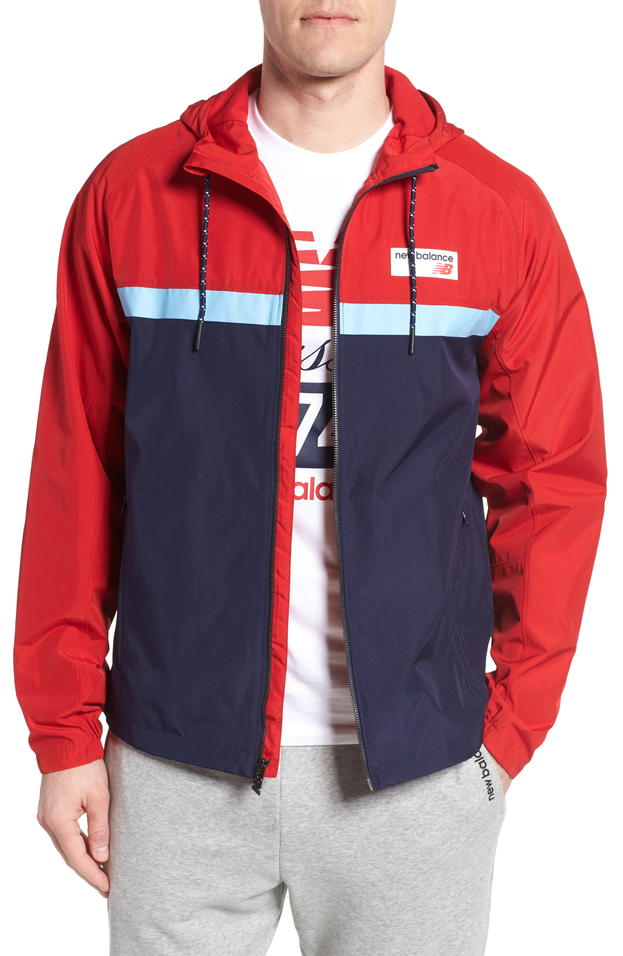 Athletics 78 Jacket,                             Main thumbnail 1, color,                             Team Red