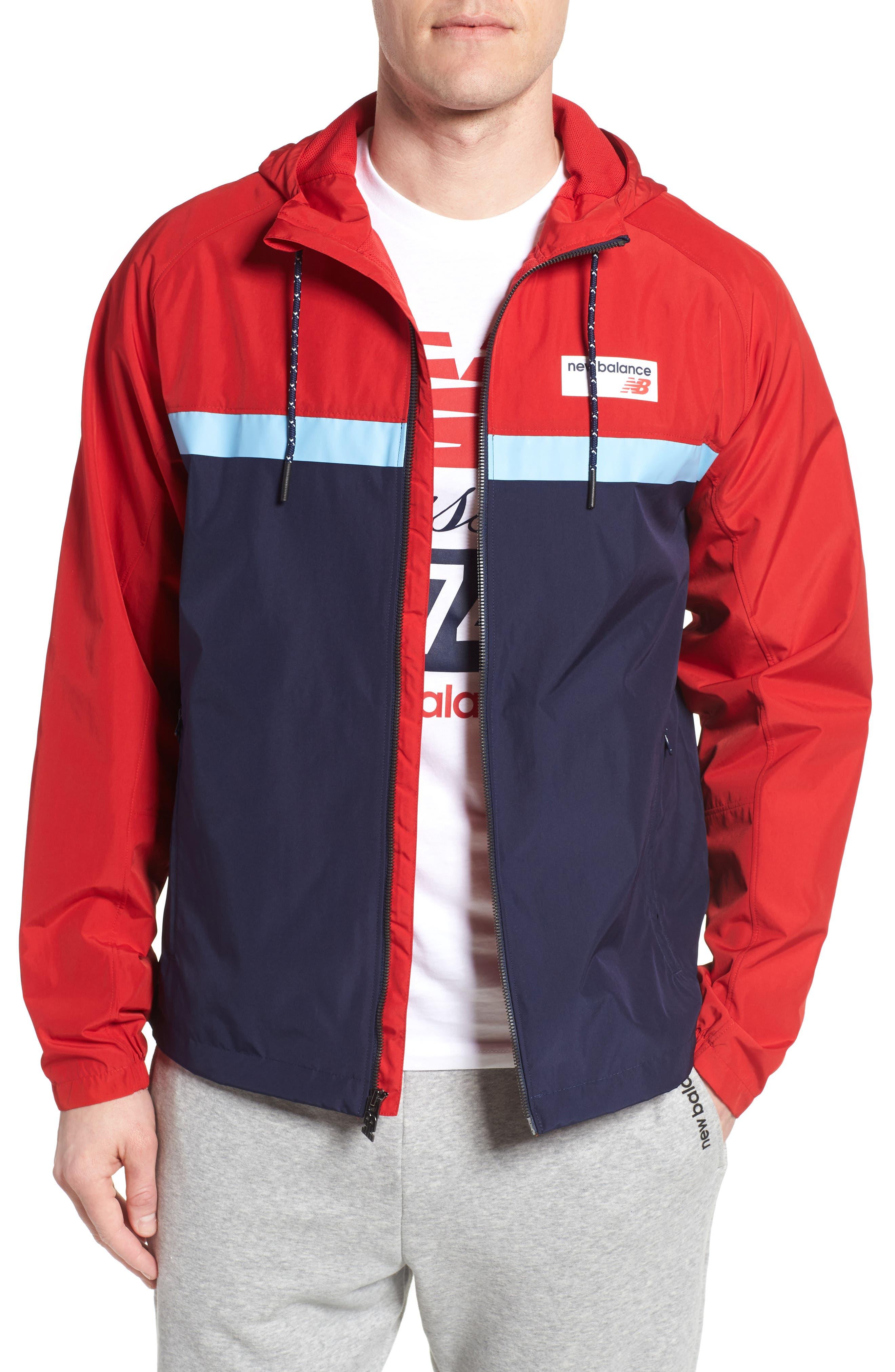 Athletics 78 Jacket,                         Main,                         color, Team Red