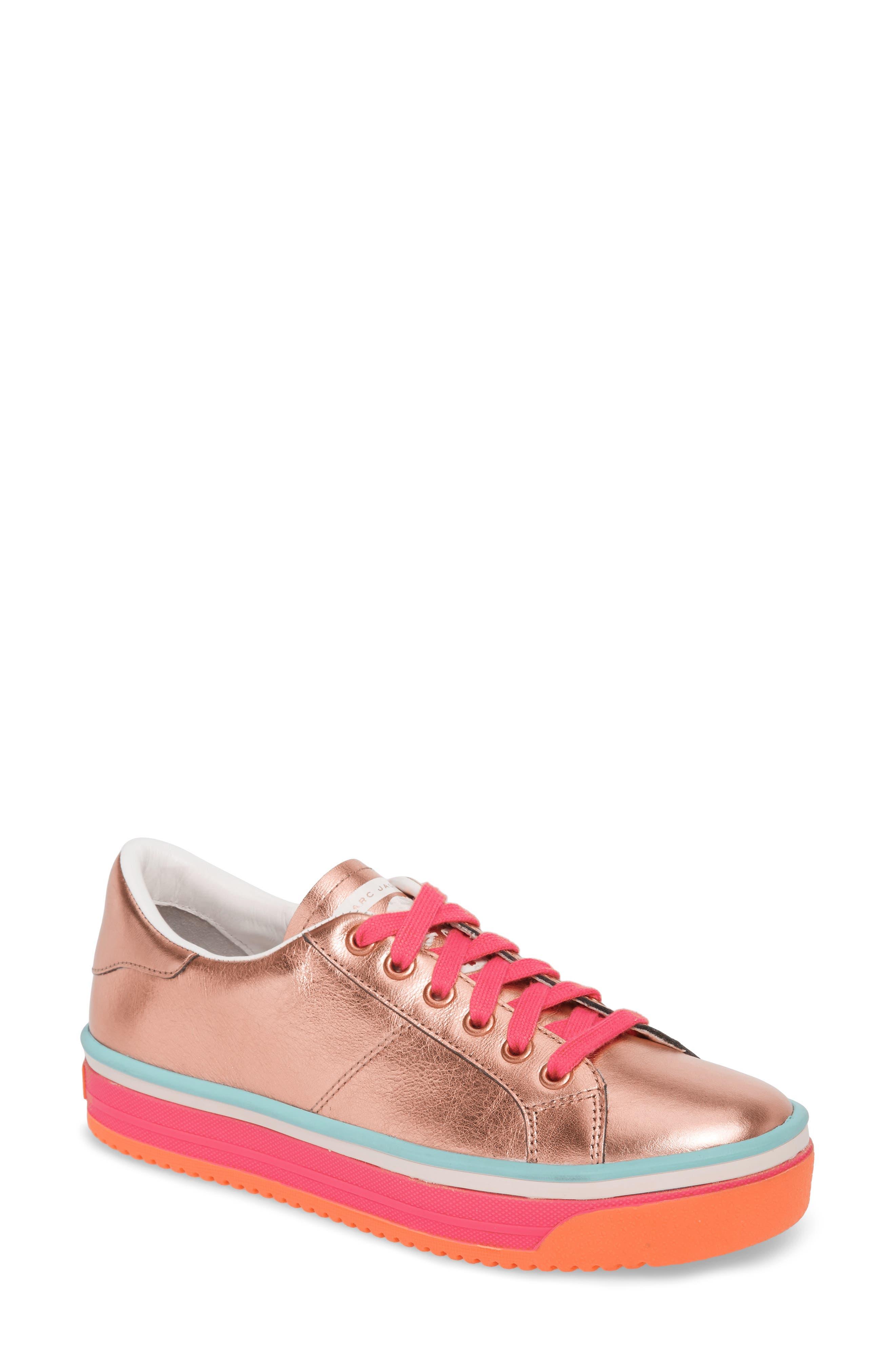 MARC JACOBS Empire Metallic Sneaker (Women)