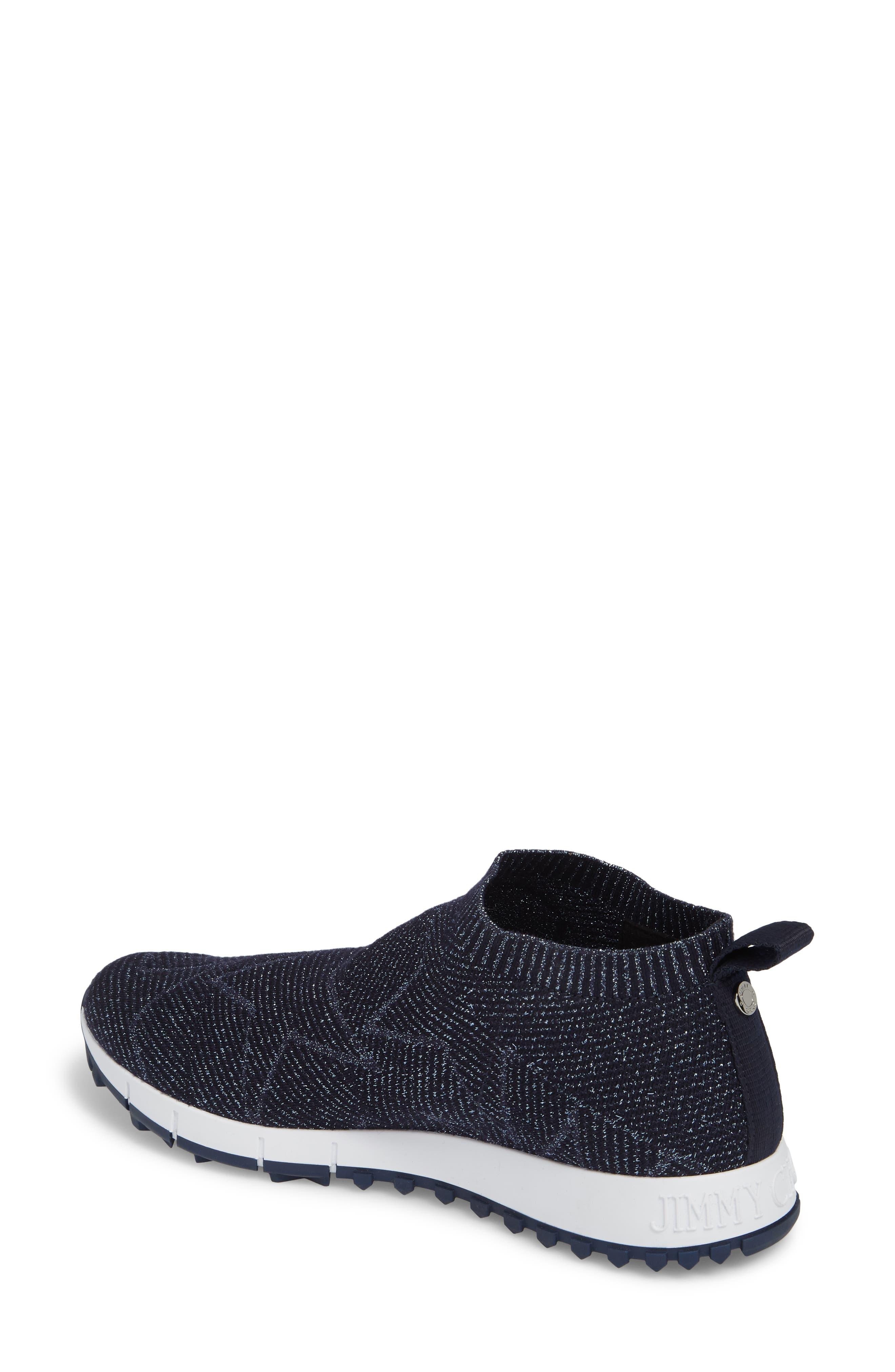 Norway Star Slip-On Sneaker,                             Alternate thumbnail 2, color,                             Navy