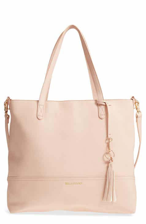 08dad63d4d Bella Tunno Boss Faux Leather Diaper Bag   Clutch