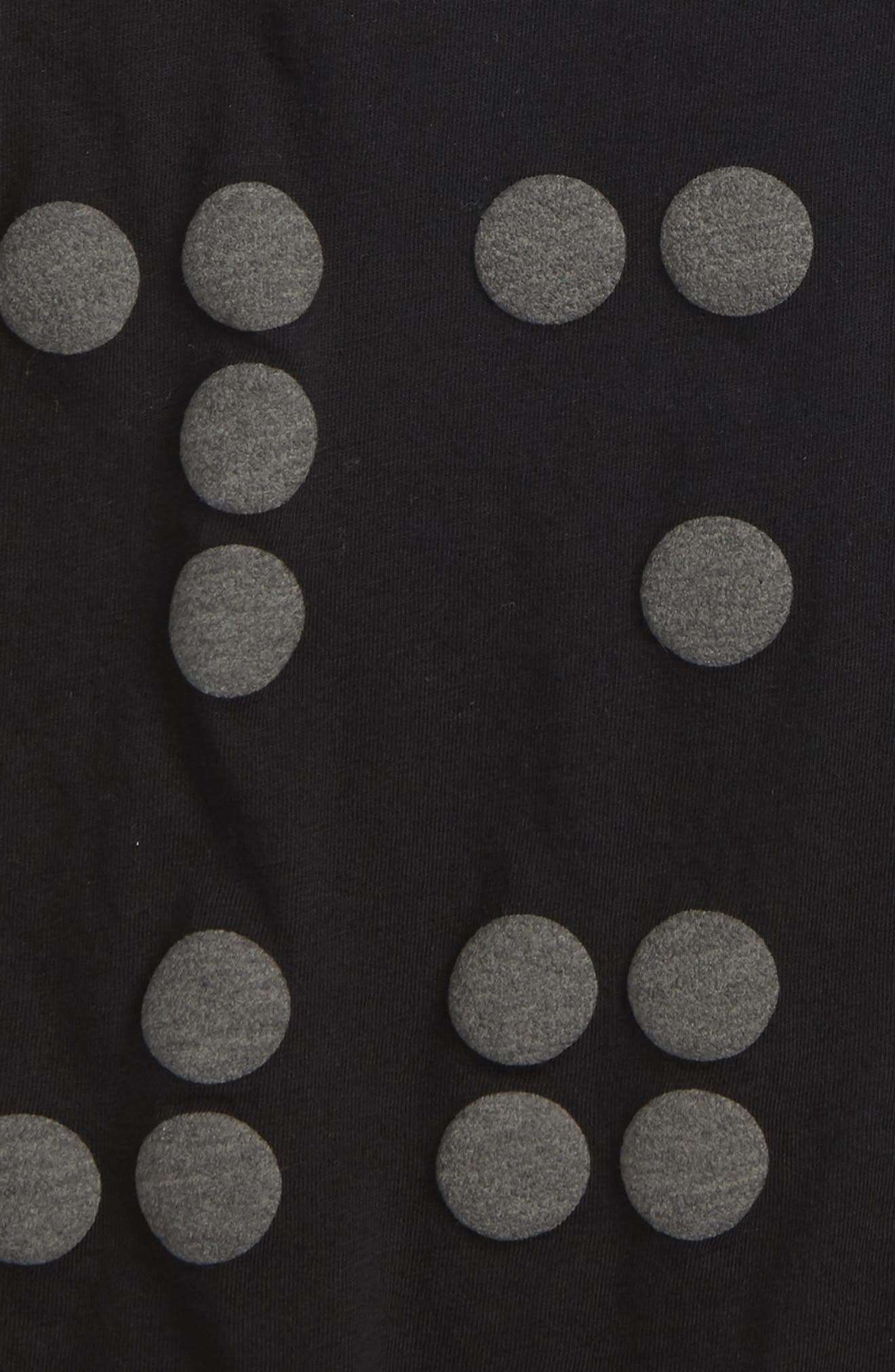Braille Dot Tank,                             Alternate thumbnail 2, color,                             Black