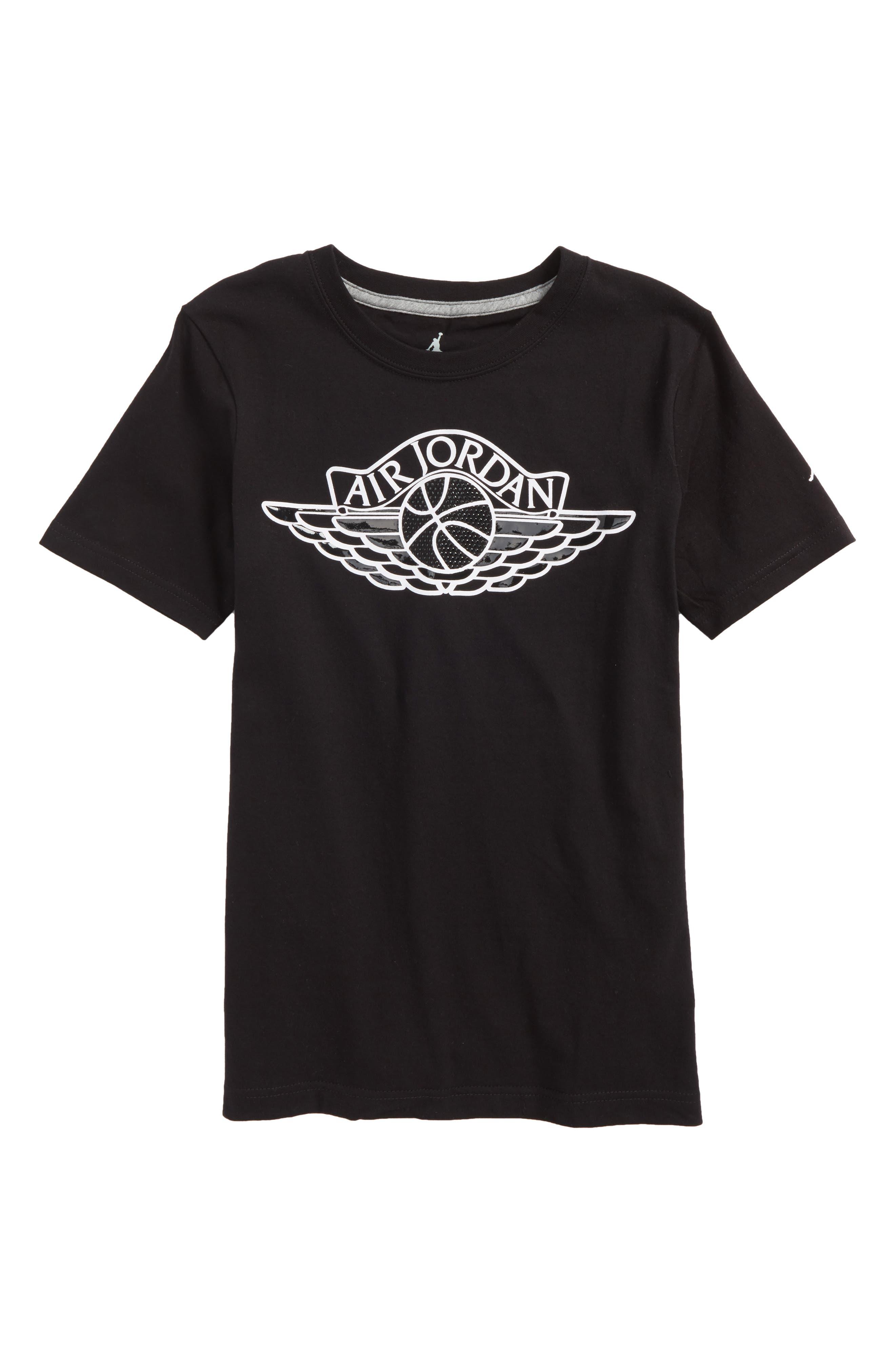 Jordan MJSW Read 5 T-Shirt,                             Main thumbnail 1, color,                             Black