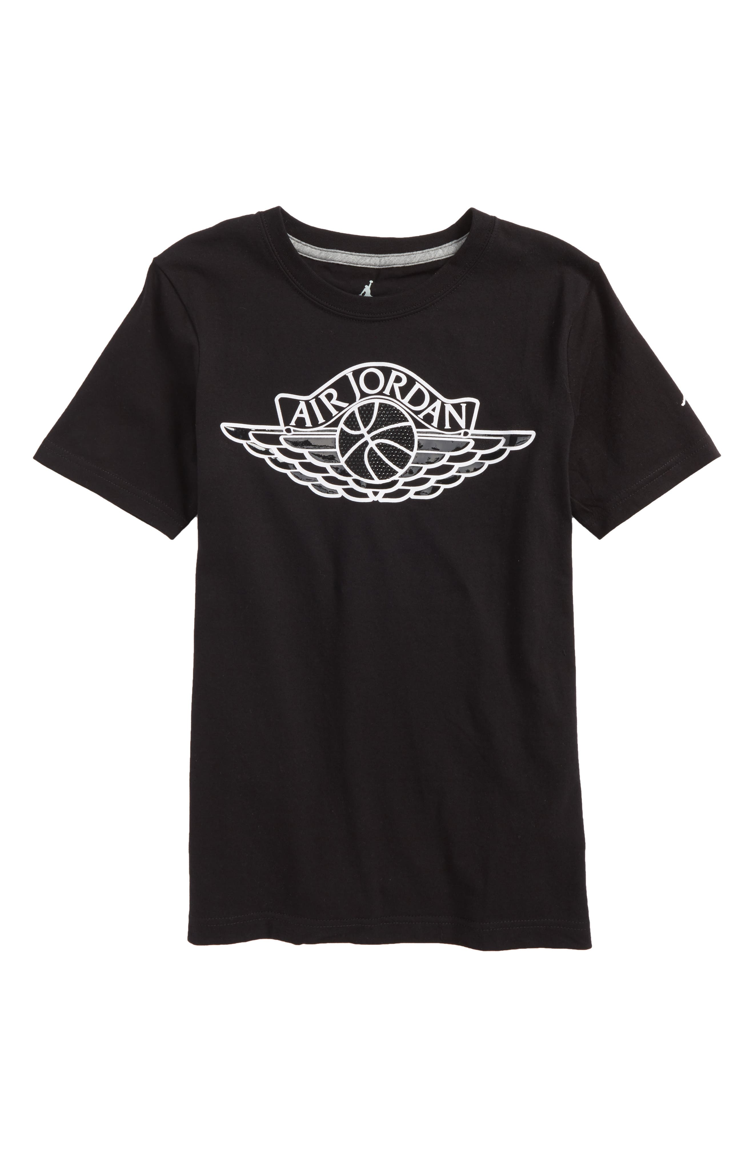 Jordan MJSW Read 5 T-Shirt,                         Main,                         color, Black