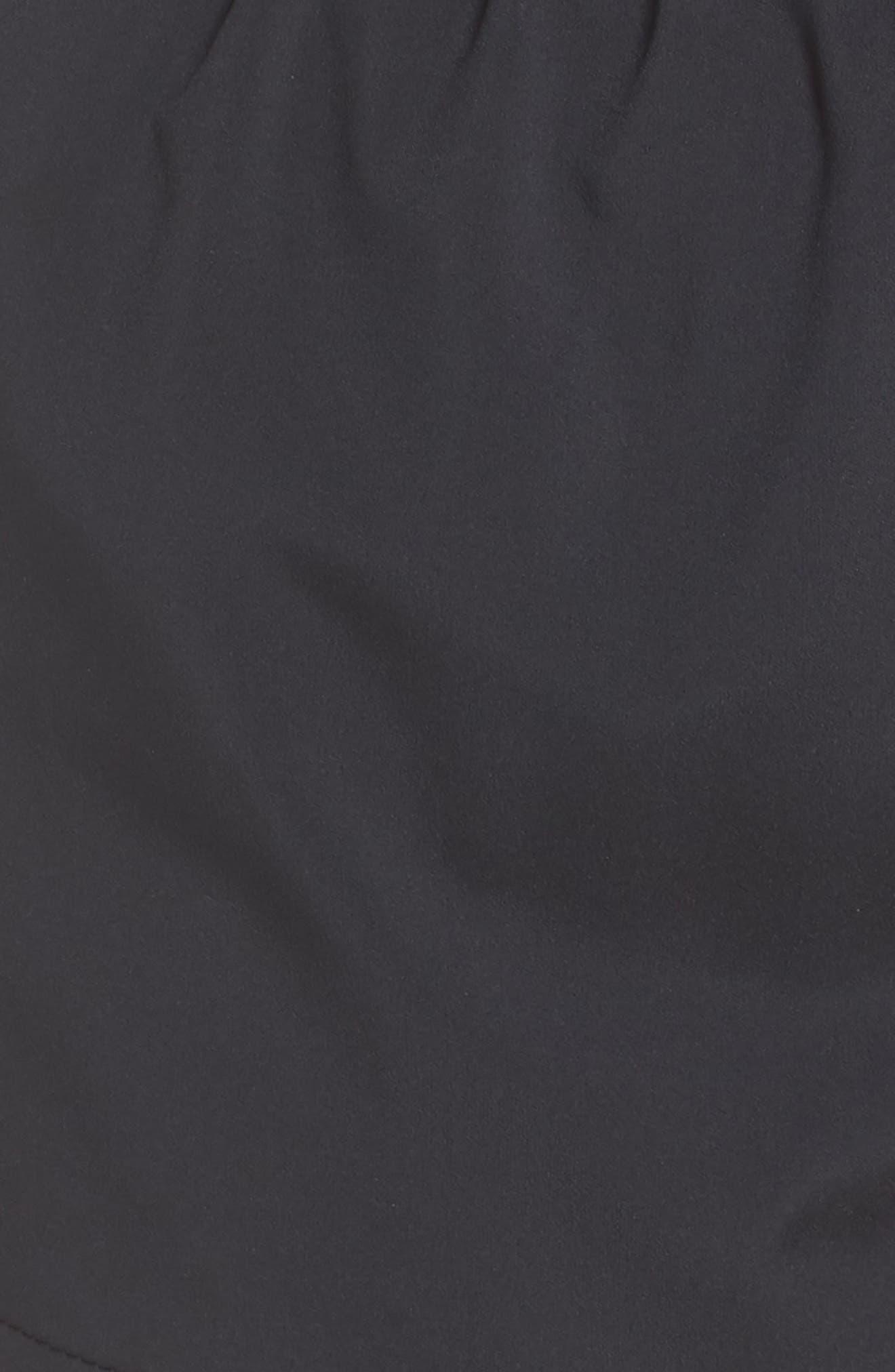 Flex Running Shorts,                             Alternate thumbnail 6, color,                             Black/ Gunsmoke