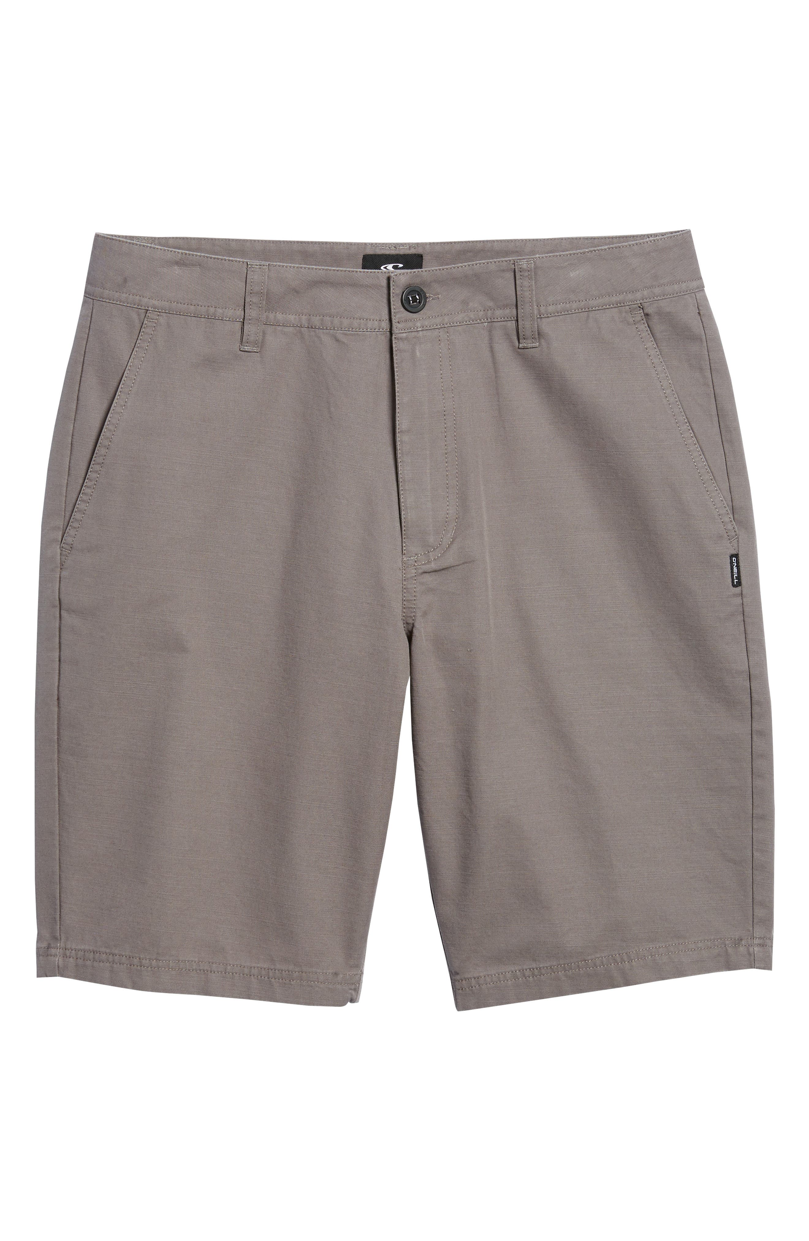 Jay Chino Shorts,                             Alternate thumbnail 6, color,                             Grey
