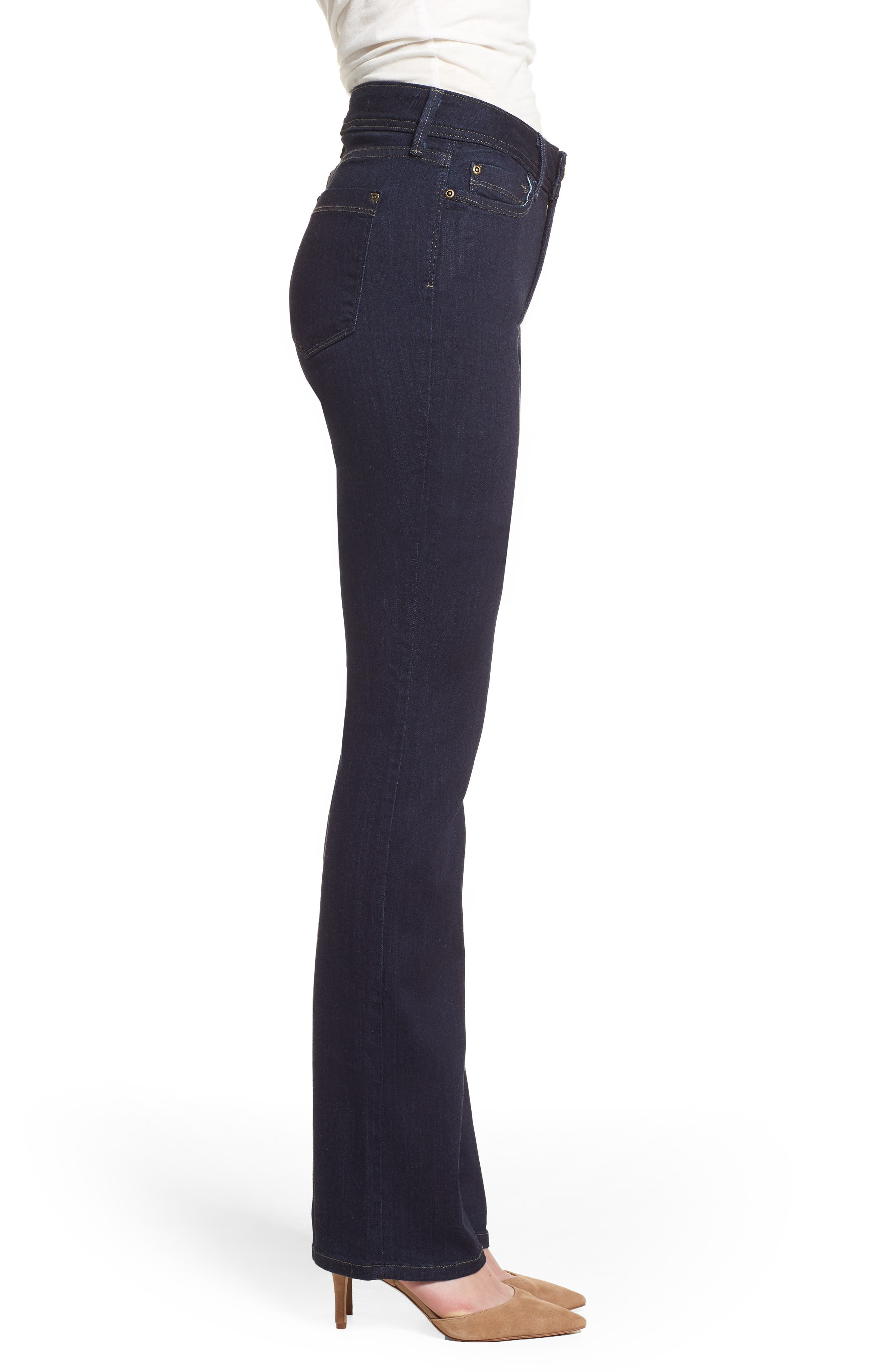 Billie Mini Bootcut Jeans,                             Alternate thumbnail 3, color,                             Mabel