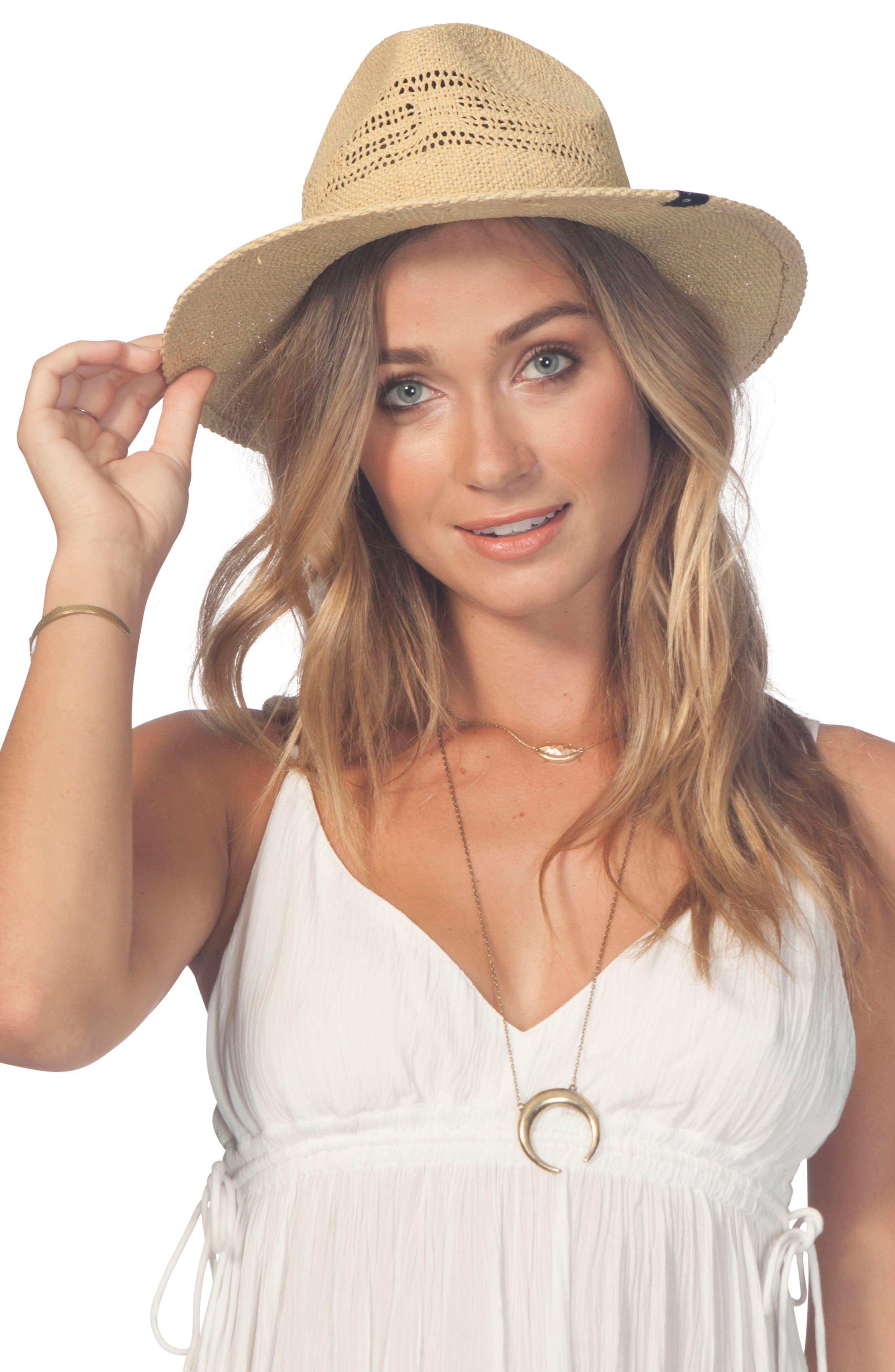 Ritual Panama Straw Hat,                             Alternate thumbnail 3, color,