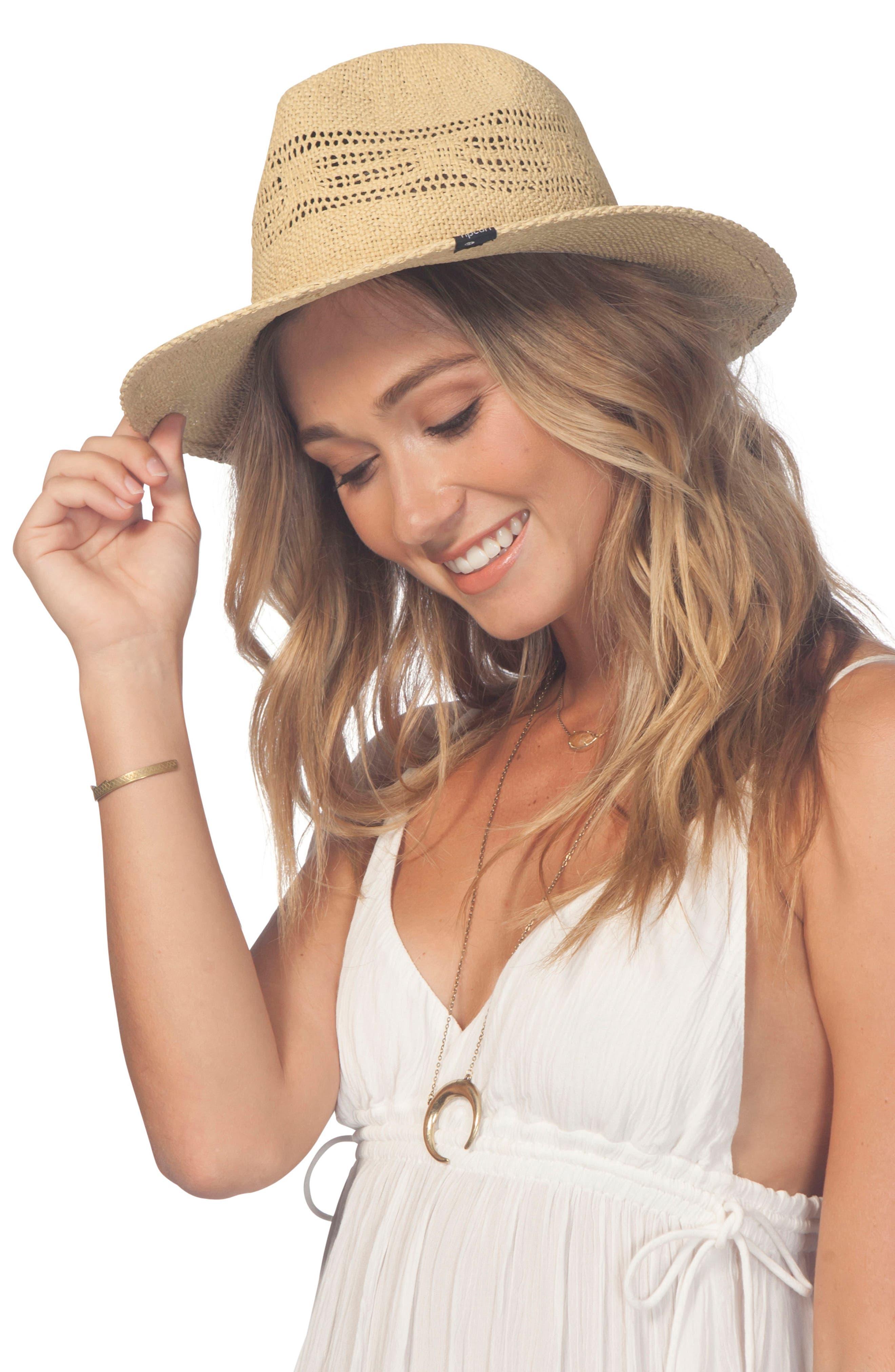 Ritual Panama Straw Hat,                             Alternate thumbnail 2, color,                             Natural