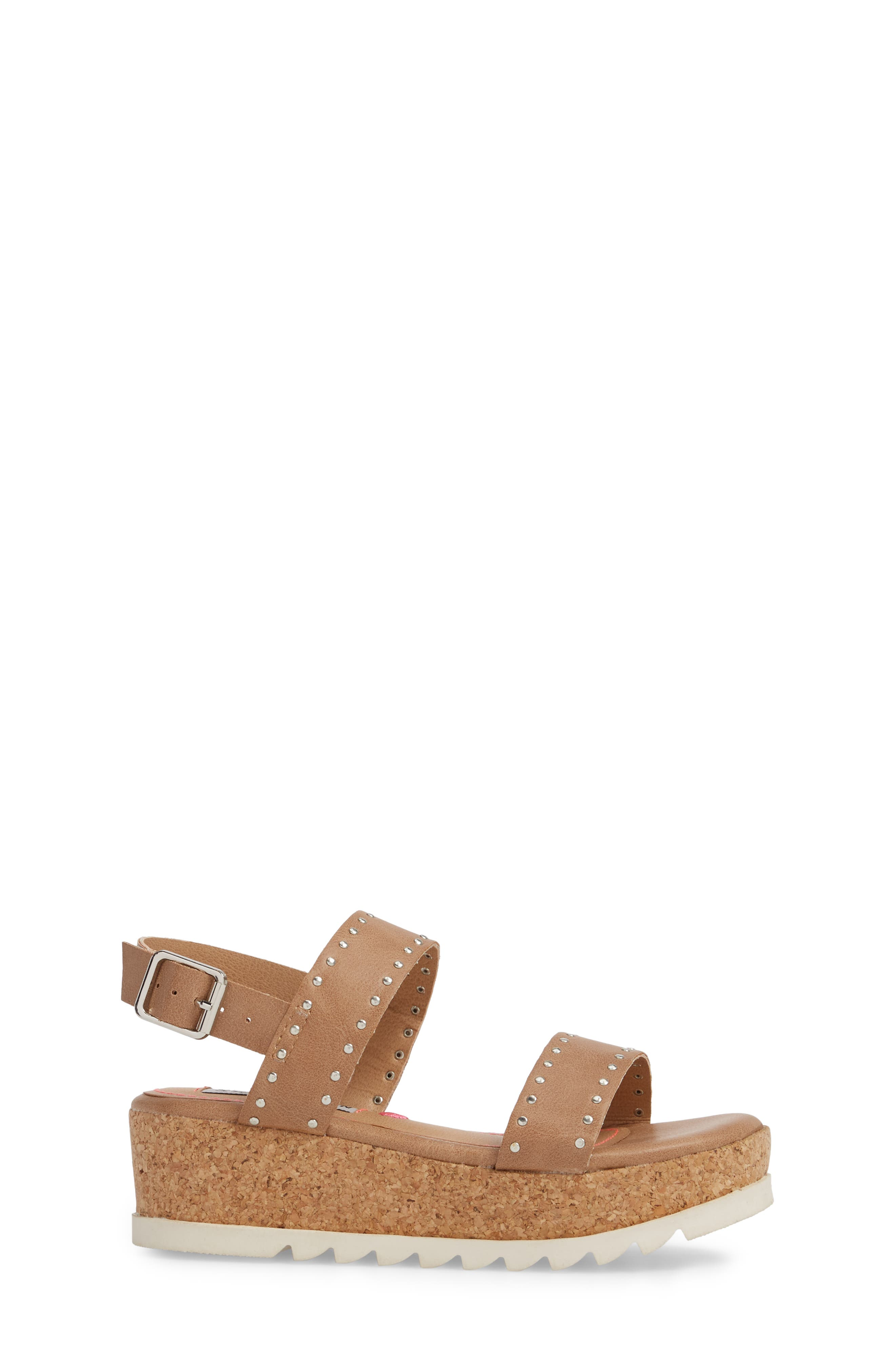 JKRISTIE Platform Sandal,                             Alternate thumbnail 3, color,                             Natural