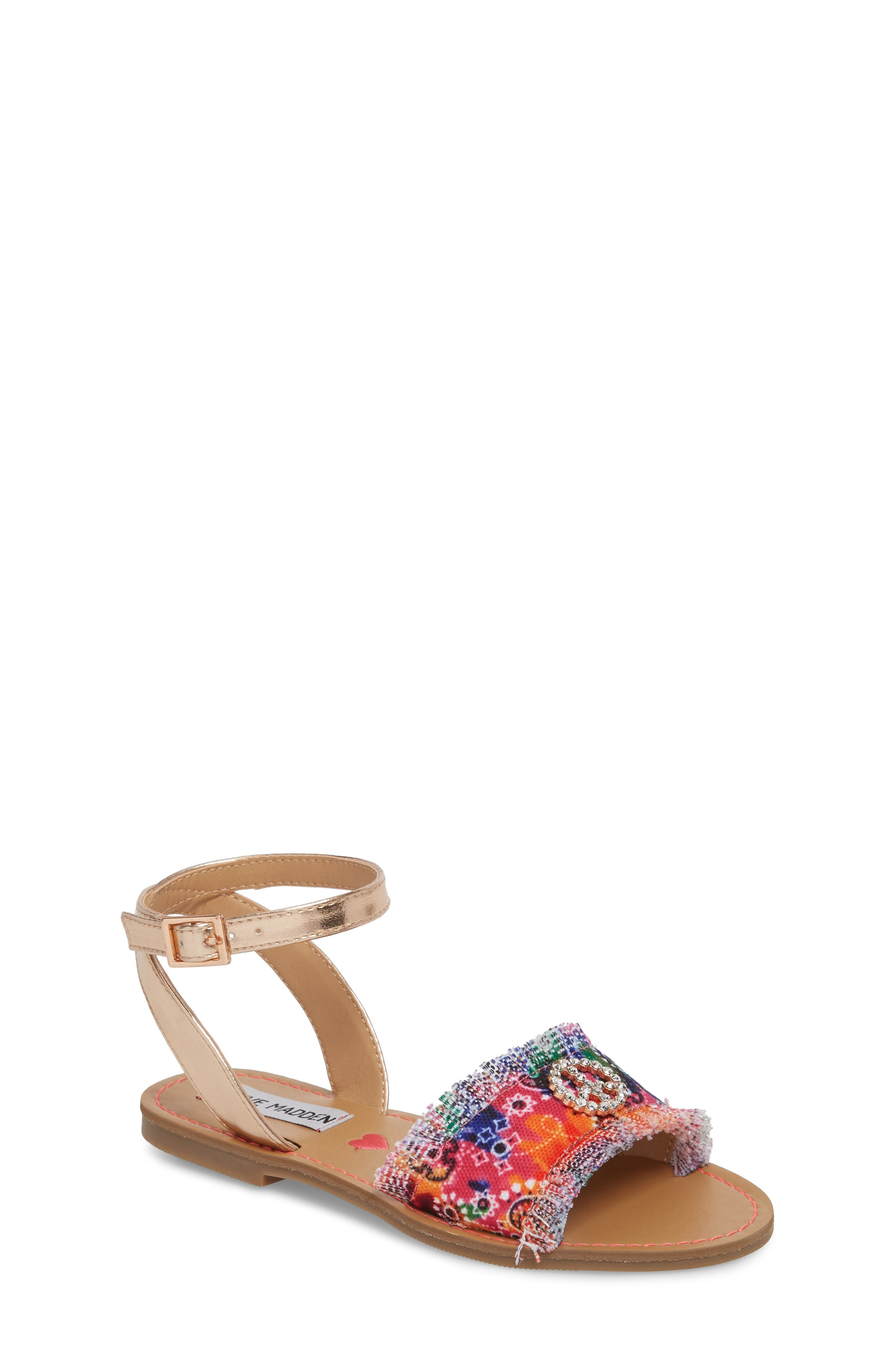 JVILLA Ankle Strap Sandal,                         Main,                         color, Tie Dye