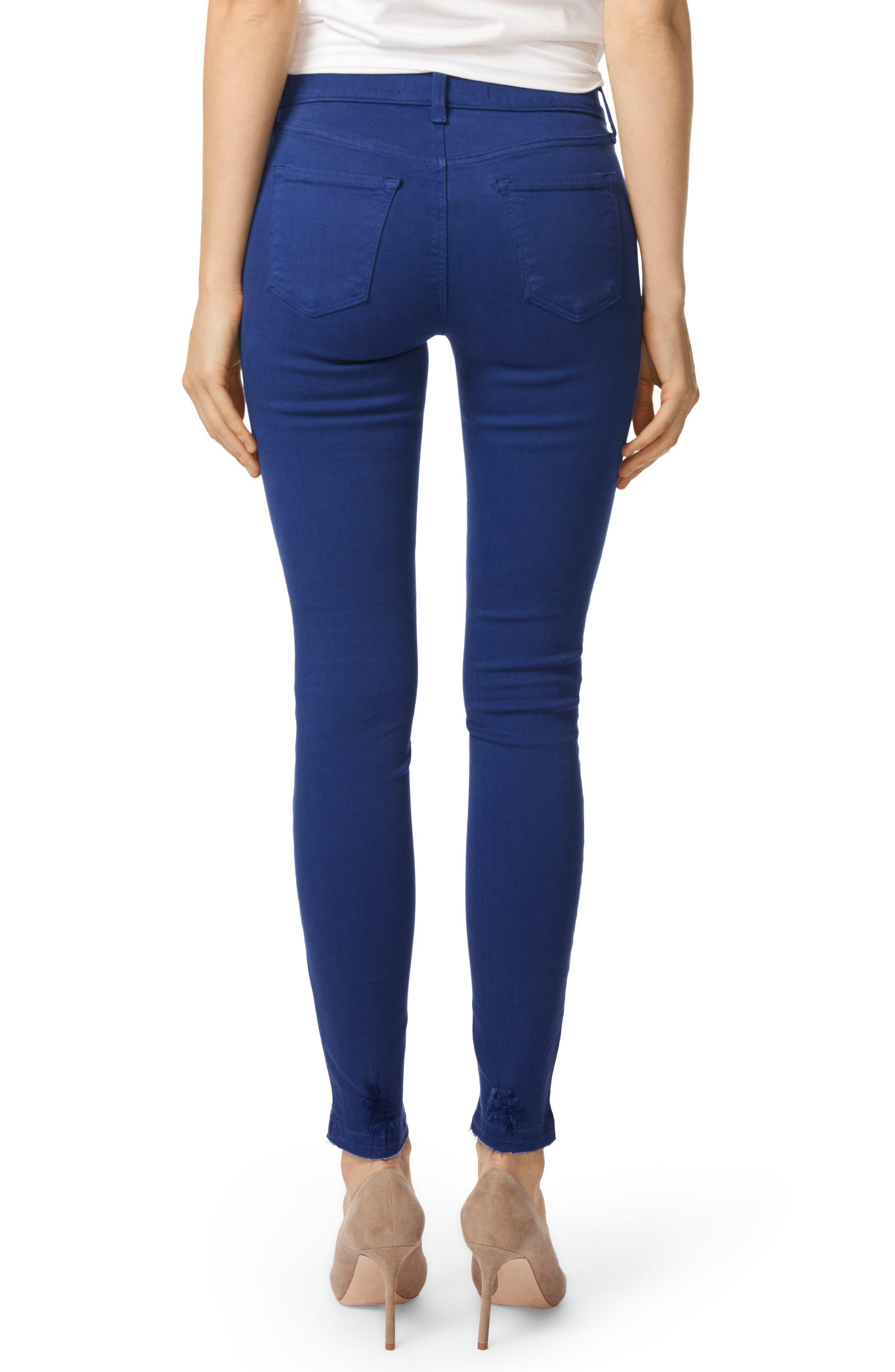 620 Mid Rise Super Skinny Jeans,                             Alternate thumbnail 2, color,                             Electric Sea Destruct