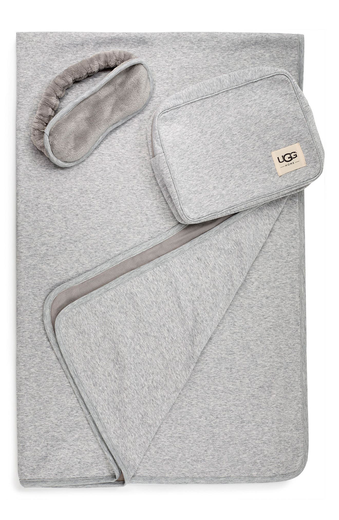 UGG® Duffield Eye Mask, Pouch & Blanket Travel Set