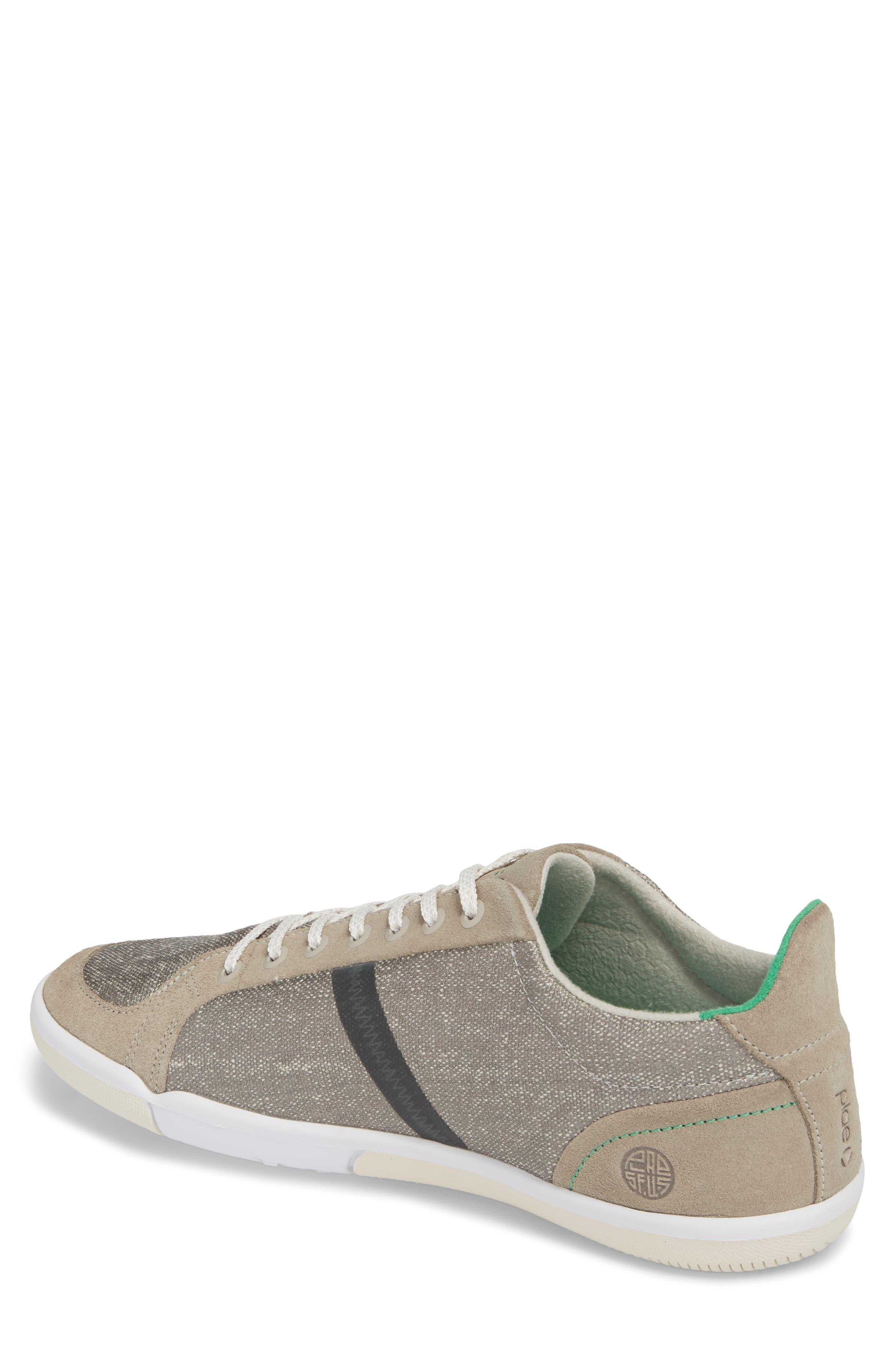 Prospect Low Top Sneaker,                             Alternate thumbnail 2, color,                             Stone