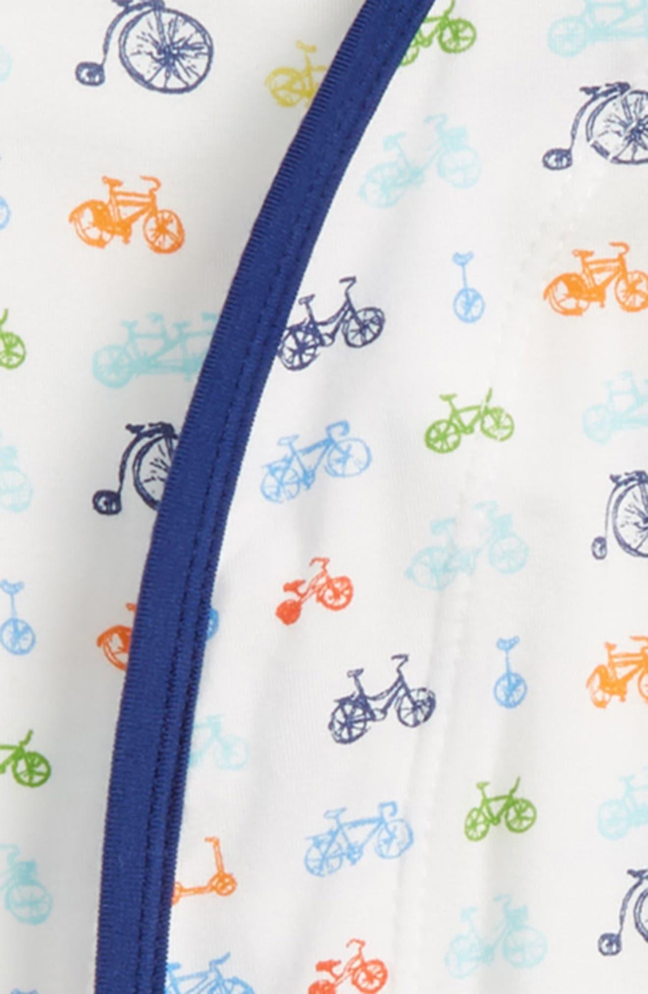 Bikes Gown & Hat Set,                             Alternate thumbnail 2, color,                             Navy