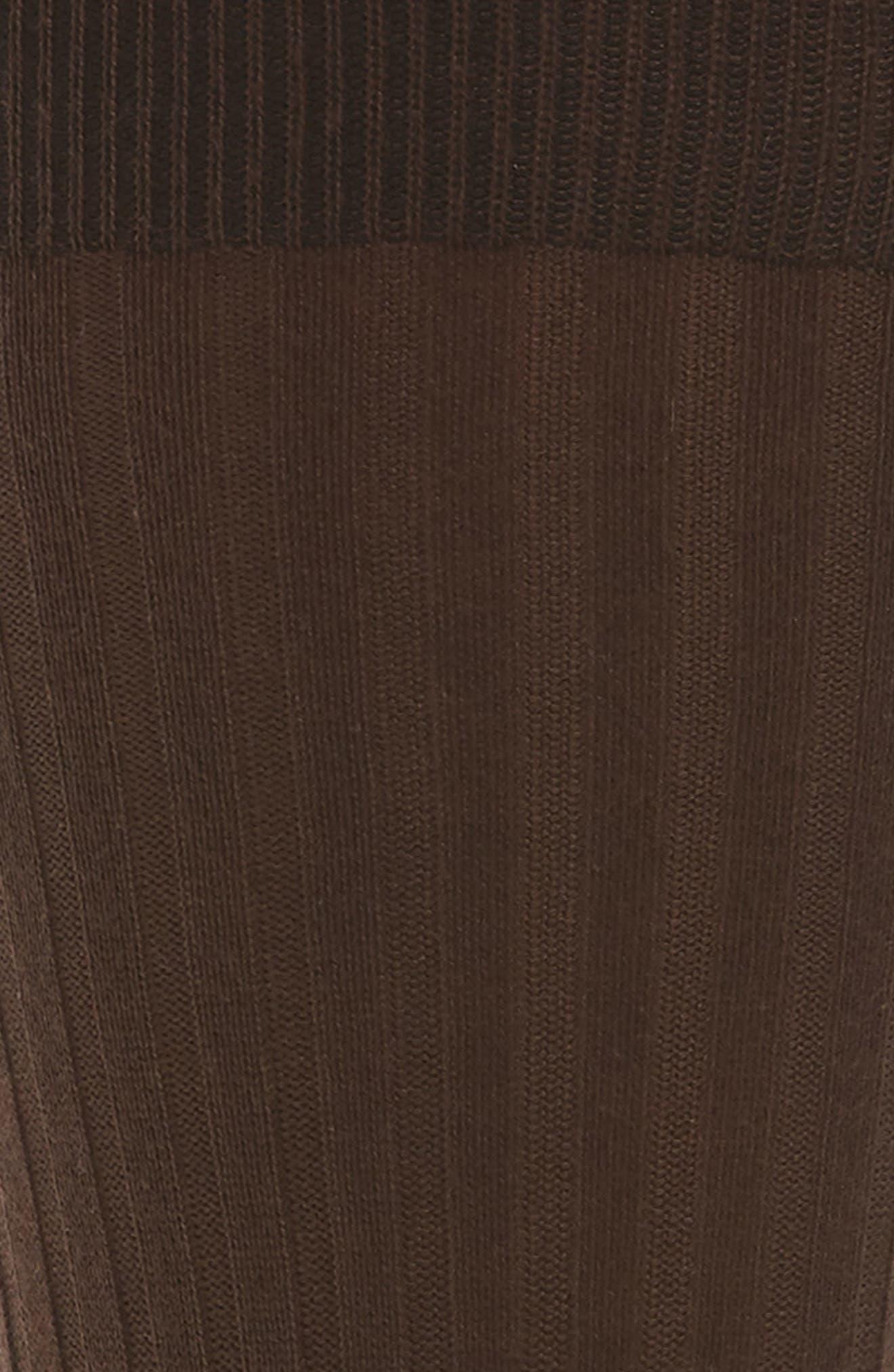 Alternate Image 2  - John W. Nordstrom® Ribbed Pima Cotton Crew Socks