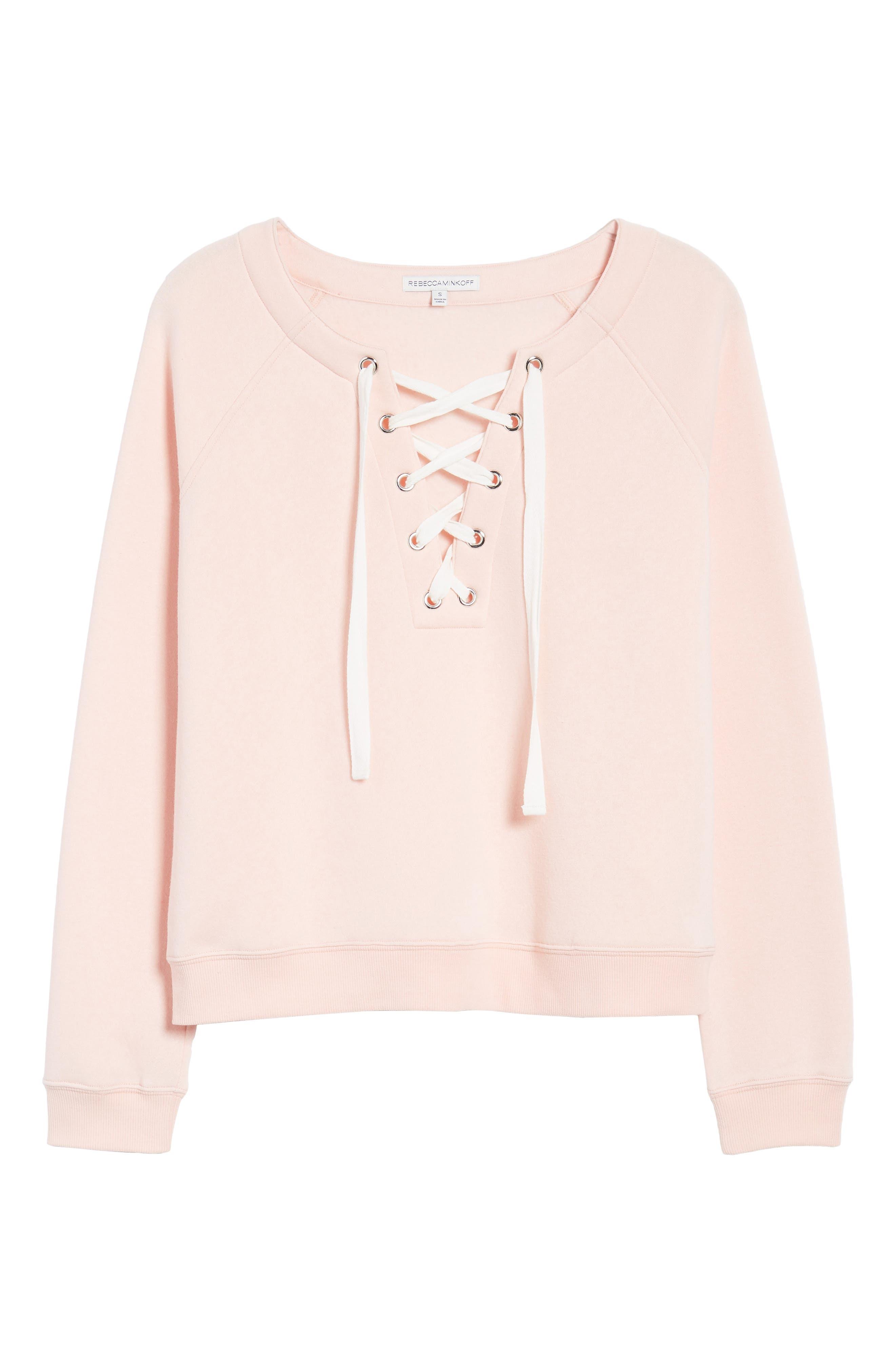 Raquel Sweatshirt,                         Main,                         color, Light Pink