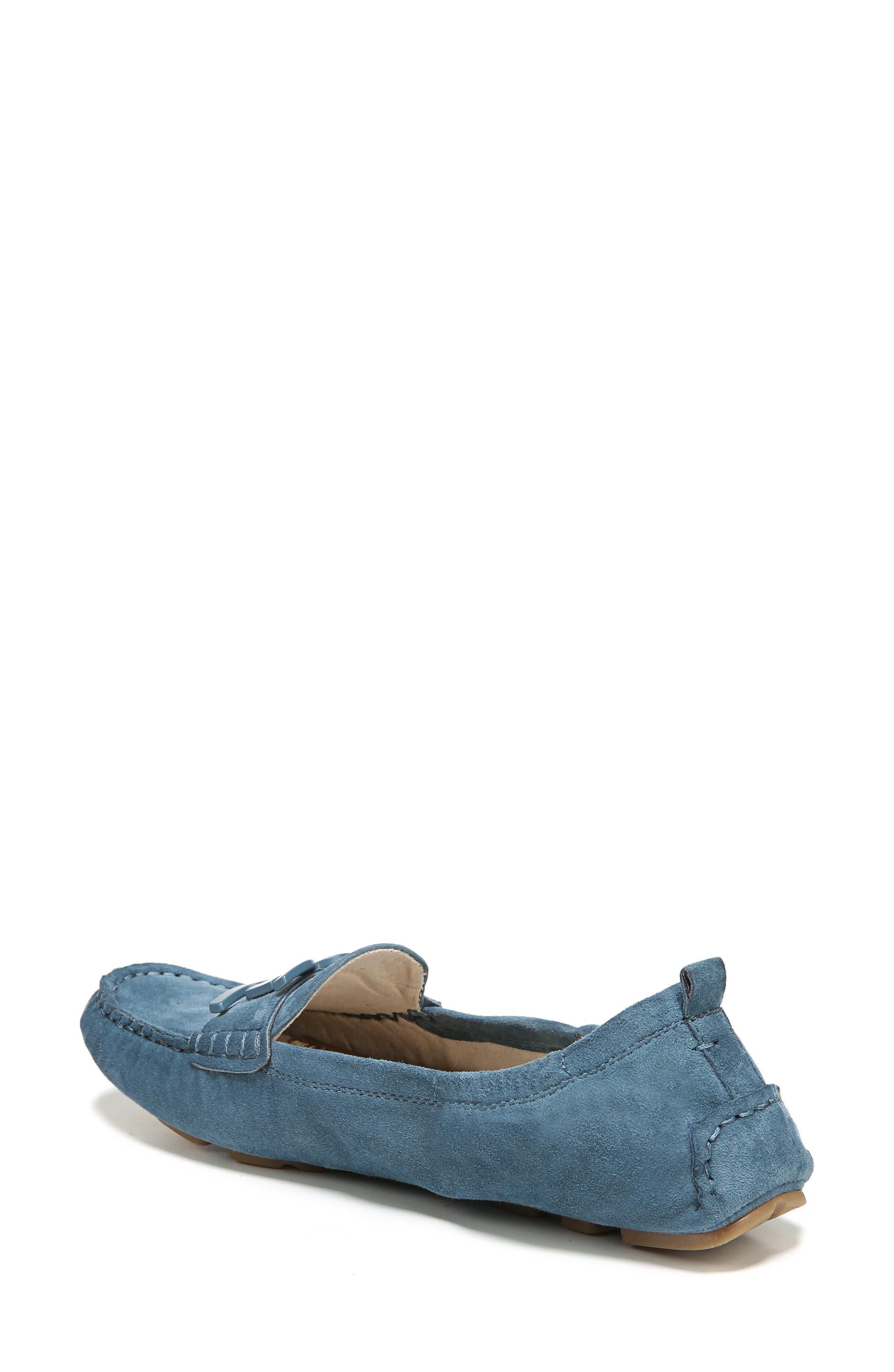 Farrell Moccasin Loafer,                             Alternate thumbnail 2, color,                             Denim Blue Suede