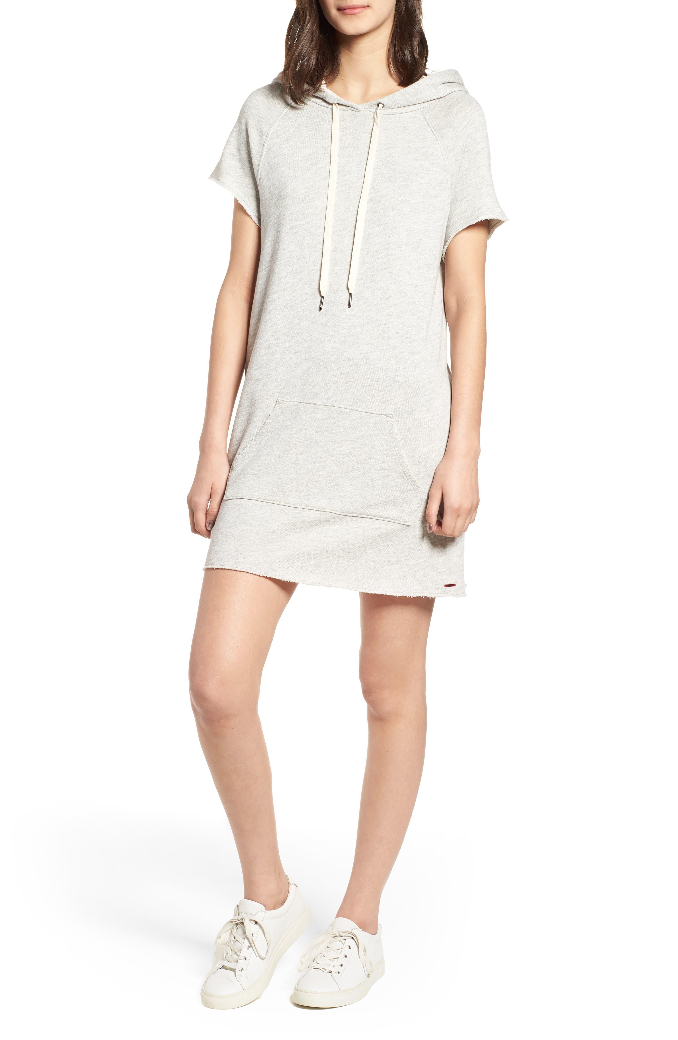 Alternate Image 1 Selected - n:PHILANTHROPY Spades Hoodie Dress