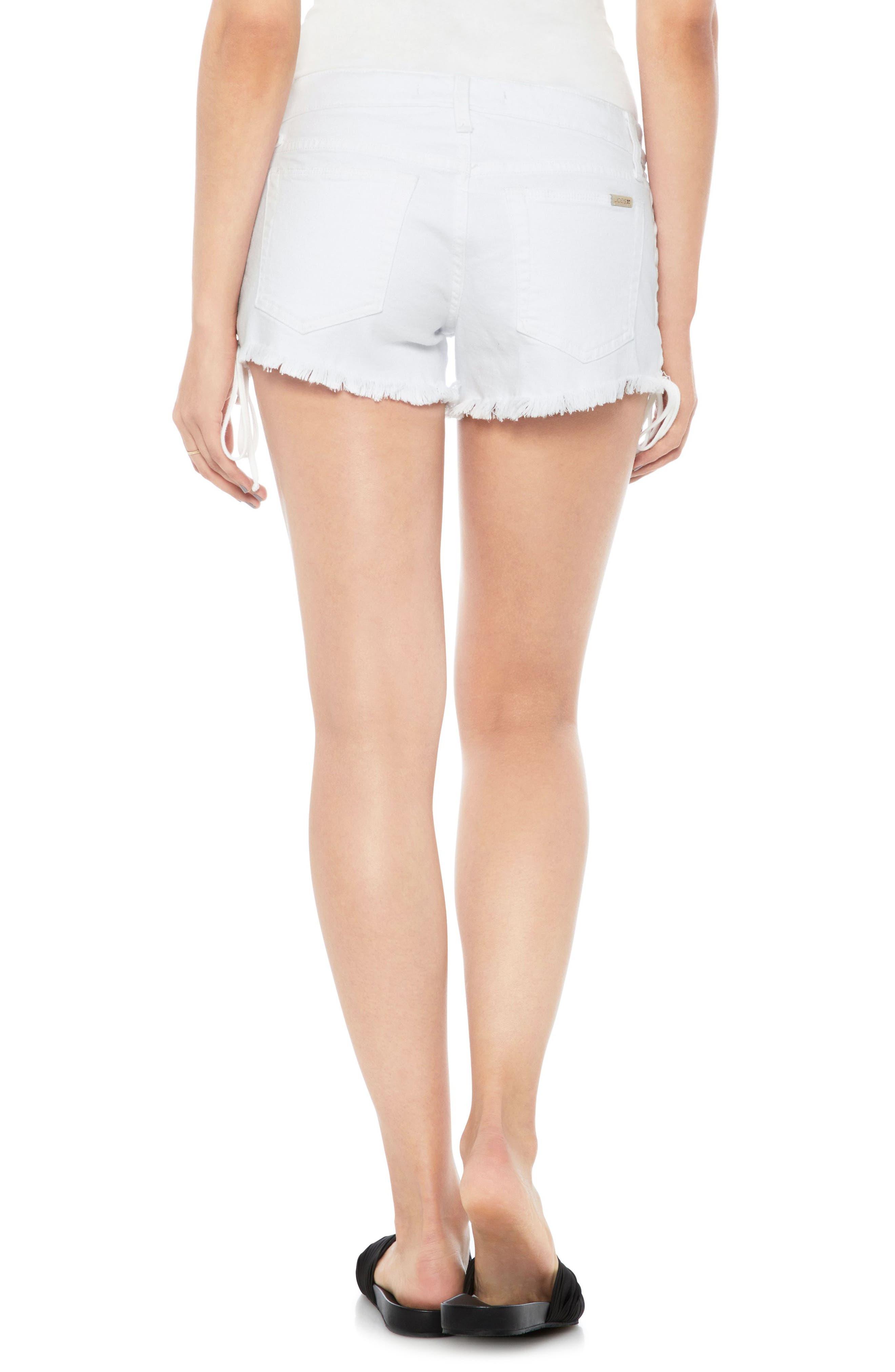Alternate Image 2  - Joe's Boyfriend Cutoff Denim Shorts (Vicki)