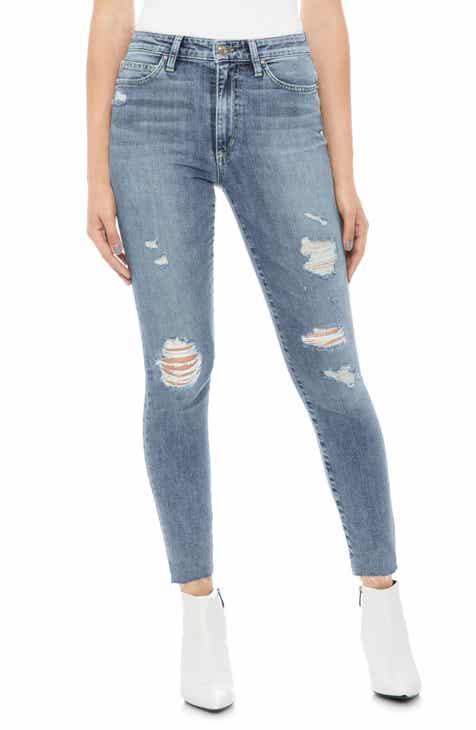 c2014eae Joe's Charlie Ripped High Waist Crop Skinny Jeans (Nydia)