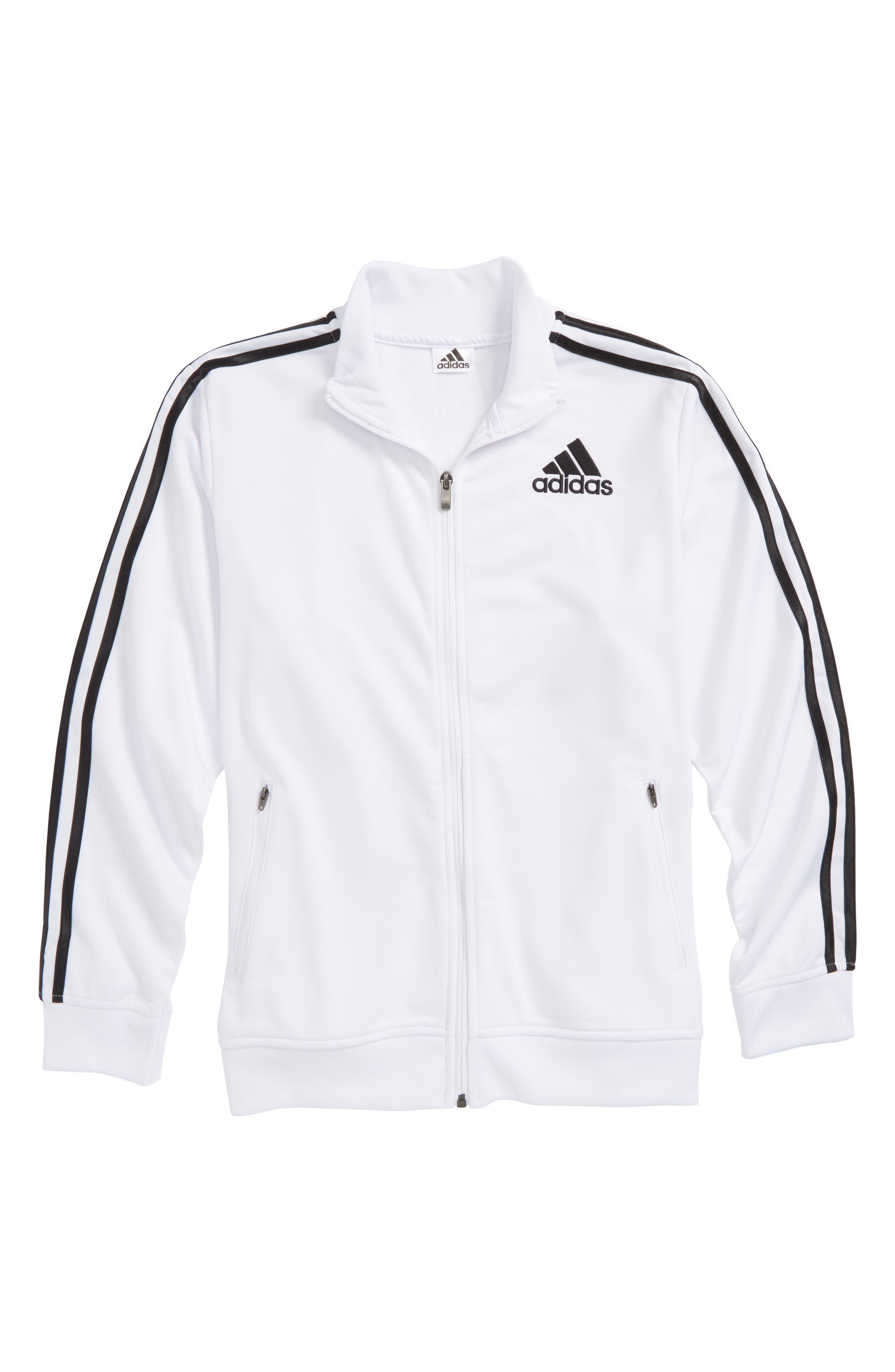 Co-Ed Designator Jacket,                             Main thumbnail 1, color,                             White/ Black