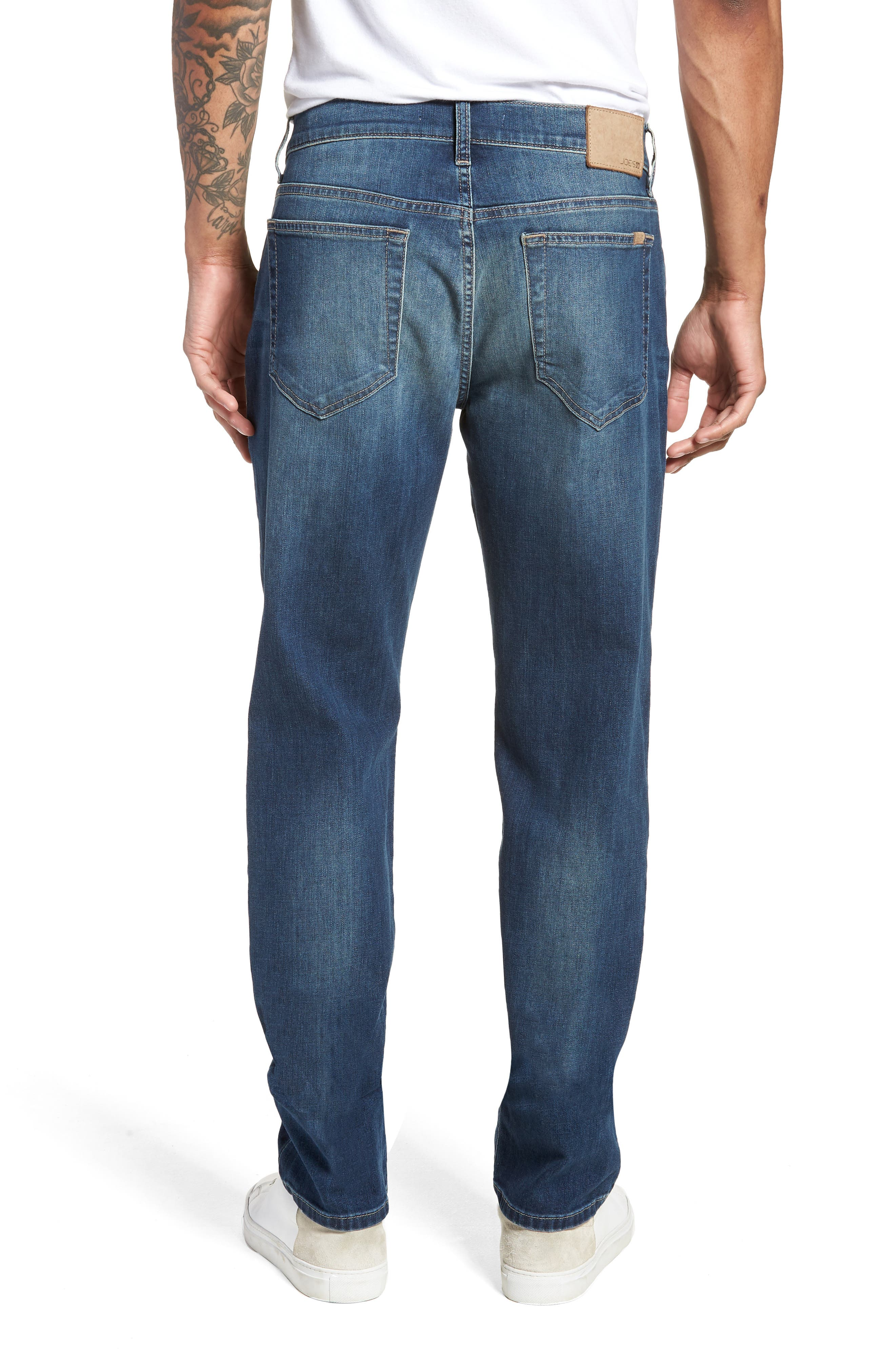 Brixton Slim Straight Fit Jeans,                             Alternate thumbnail 2, color,                             Brady