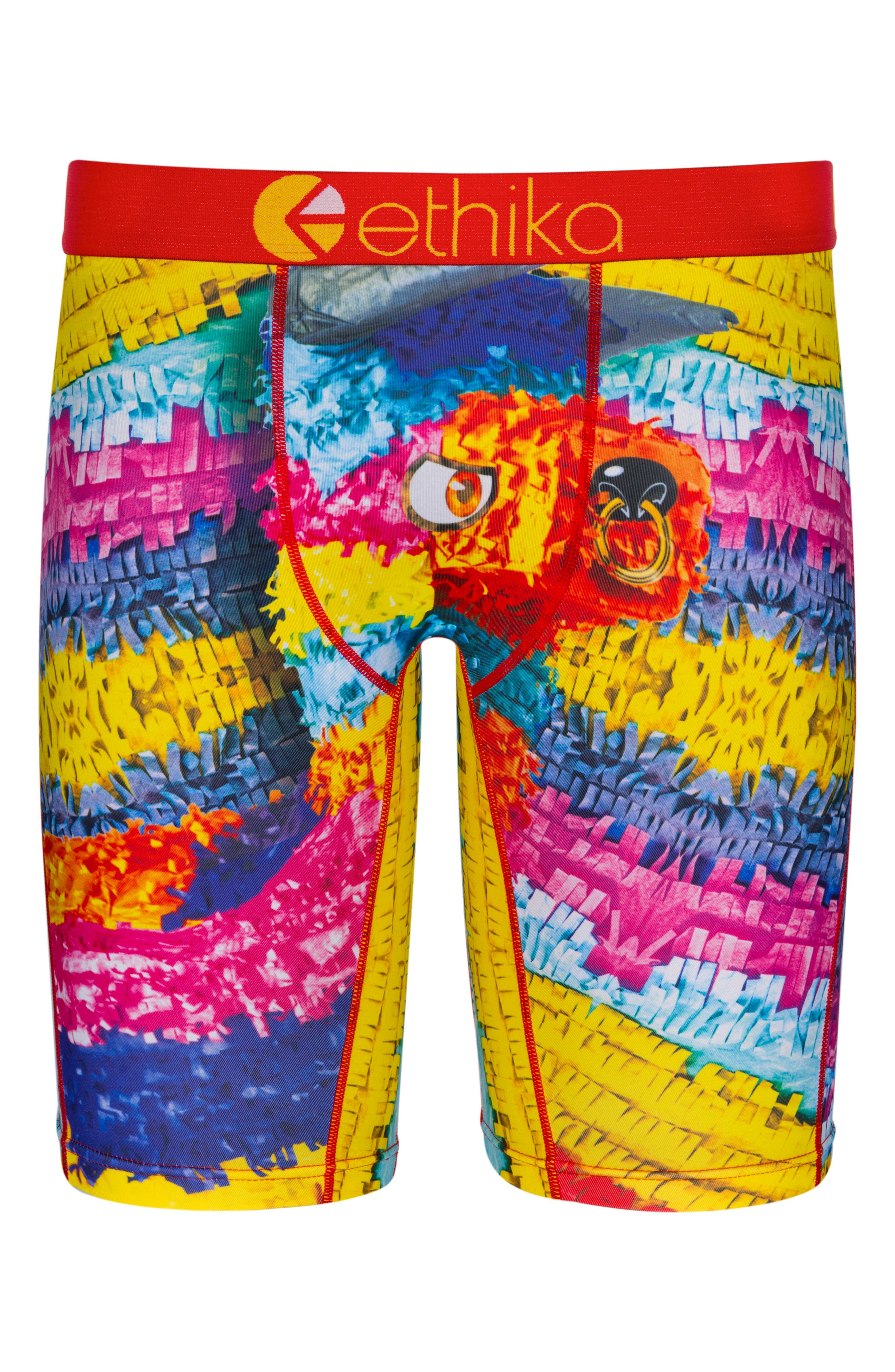 Piñata Stretch Boxer Briefs,                             Main thumbnail 1, color,                             Assorted