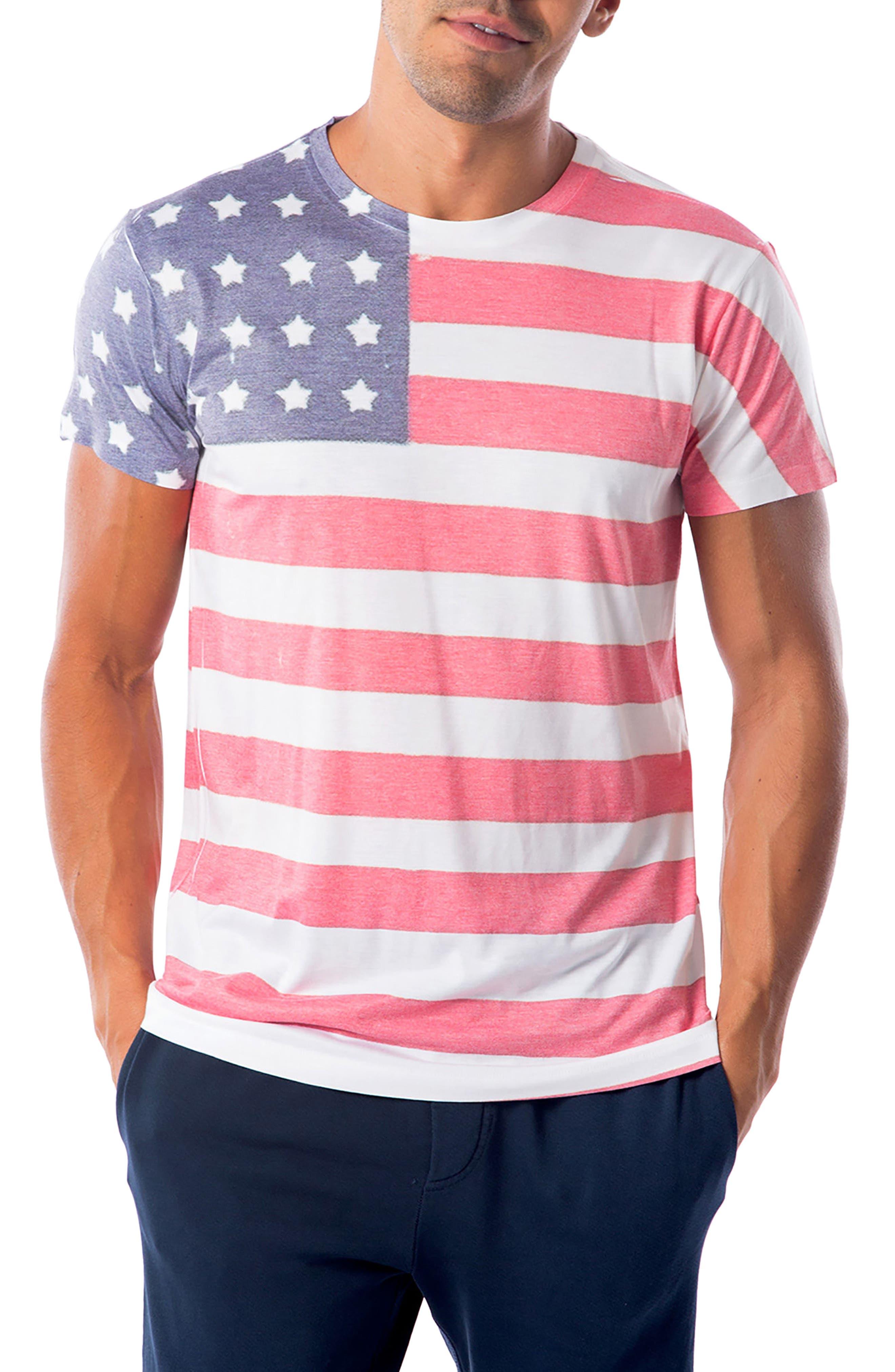 Freedom T-Shirt,                             Main thumbnail 1, color,                             Freedom