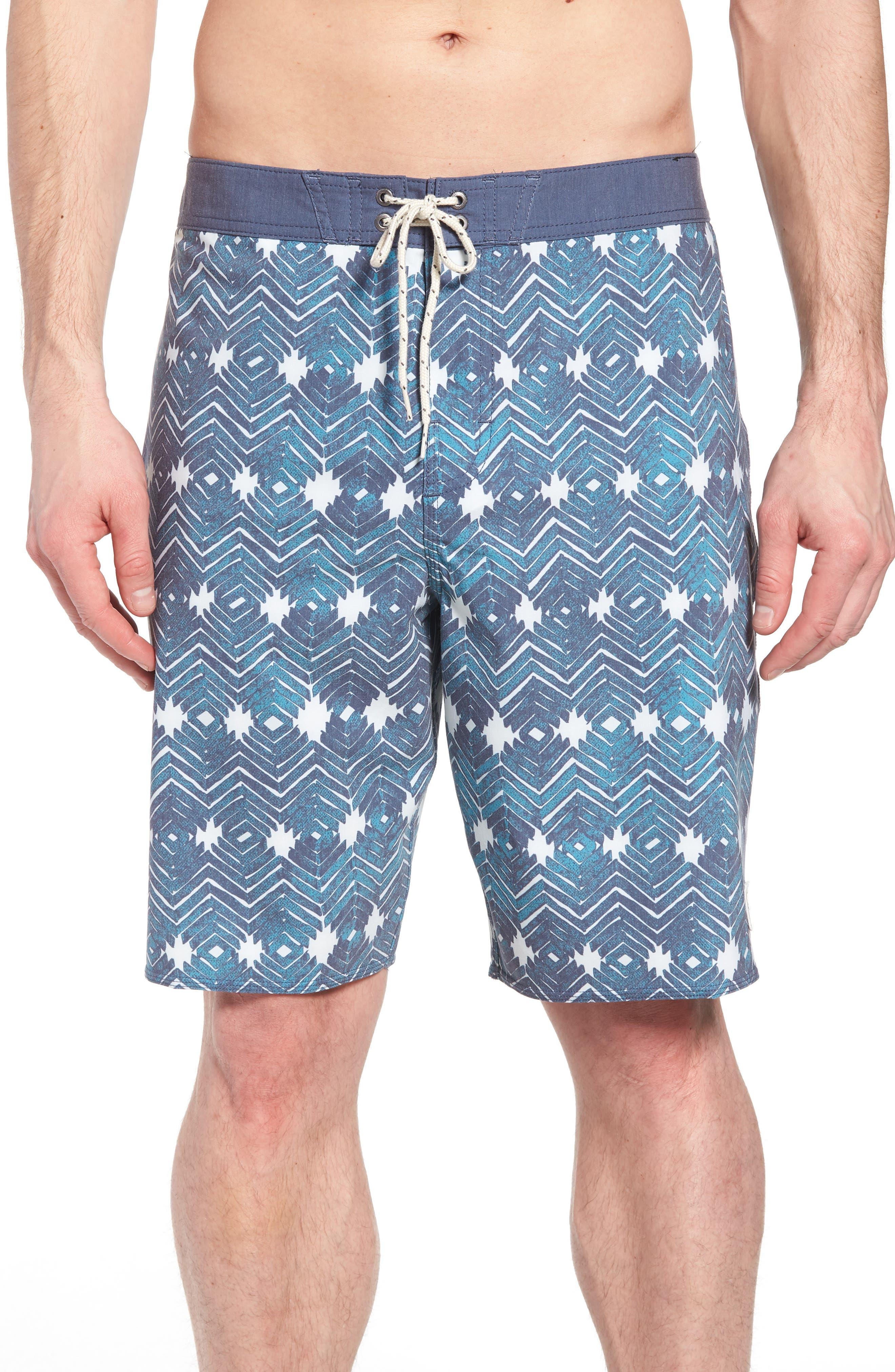 Waterfront Board Shorts,                         Main,                         color, Ocean
