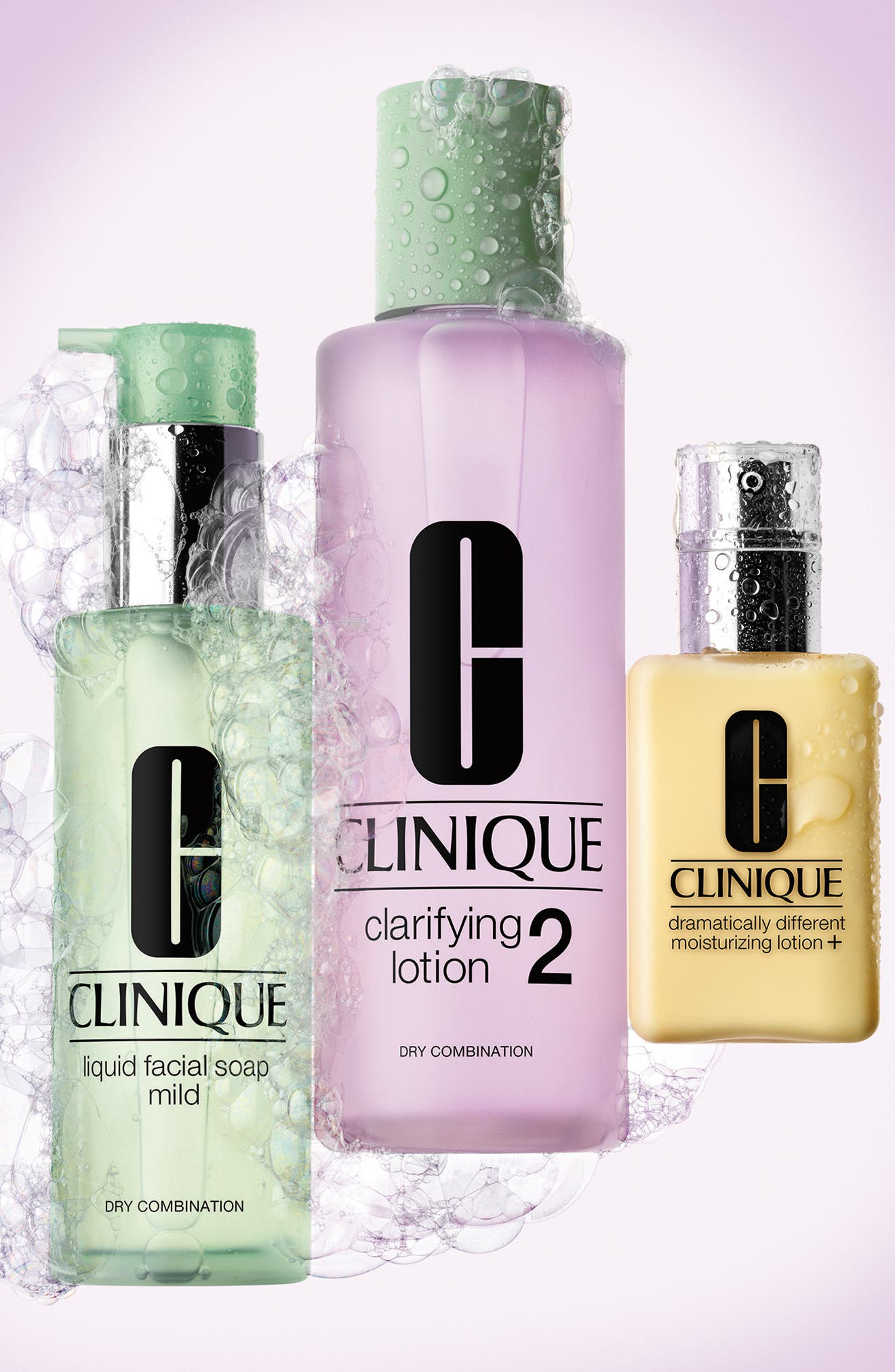 Dramatically Different Moisturizing Lotion+ Bottle with Pump,                             Alternate thumbnail 4, color,                             No Color
