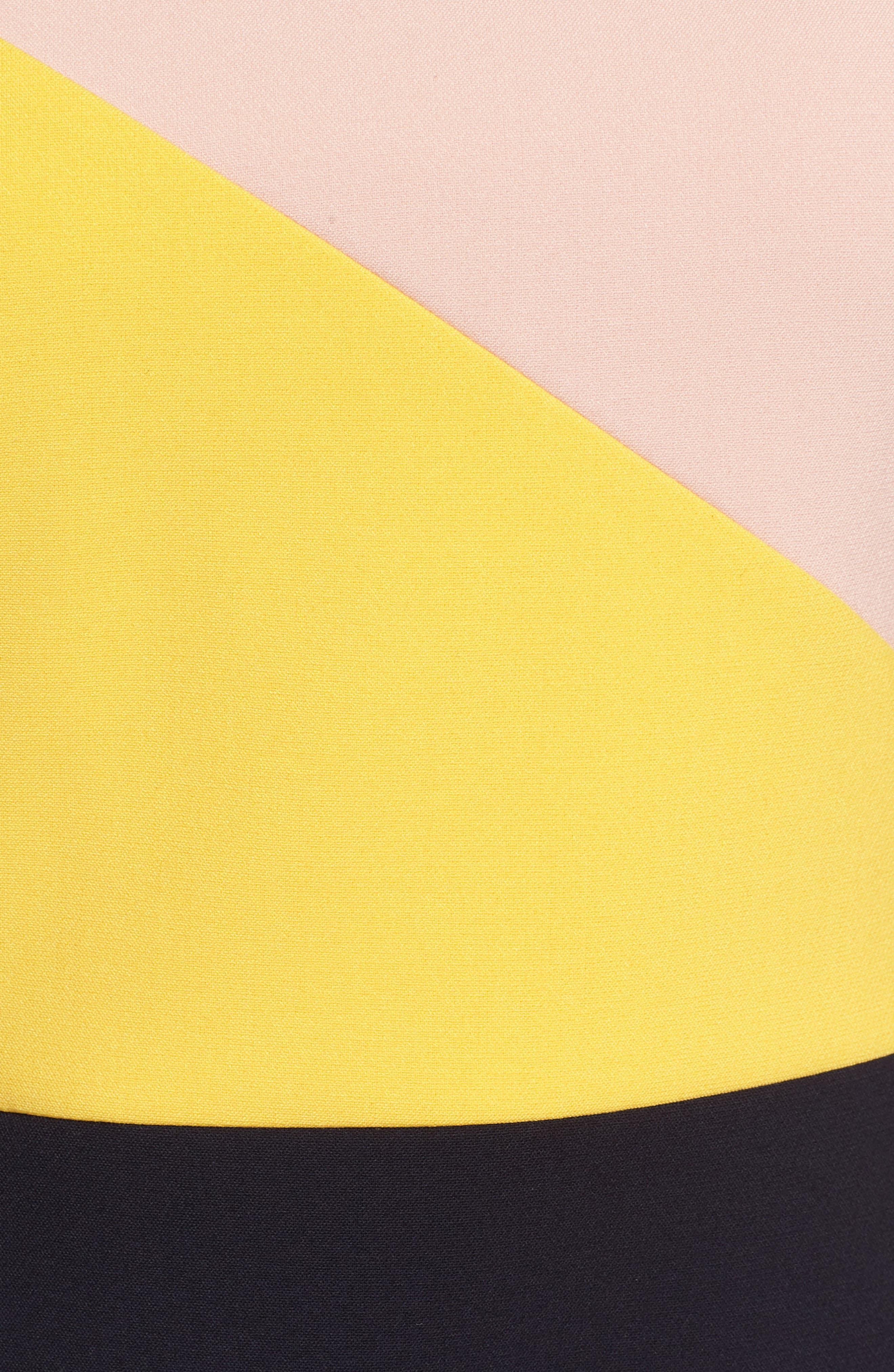 Danouk Ponte Dress,                             Alternate thumbnail 6, color,                             Navy