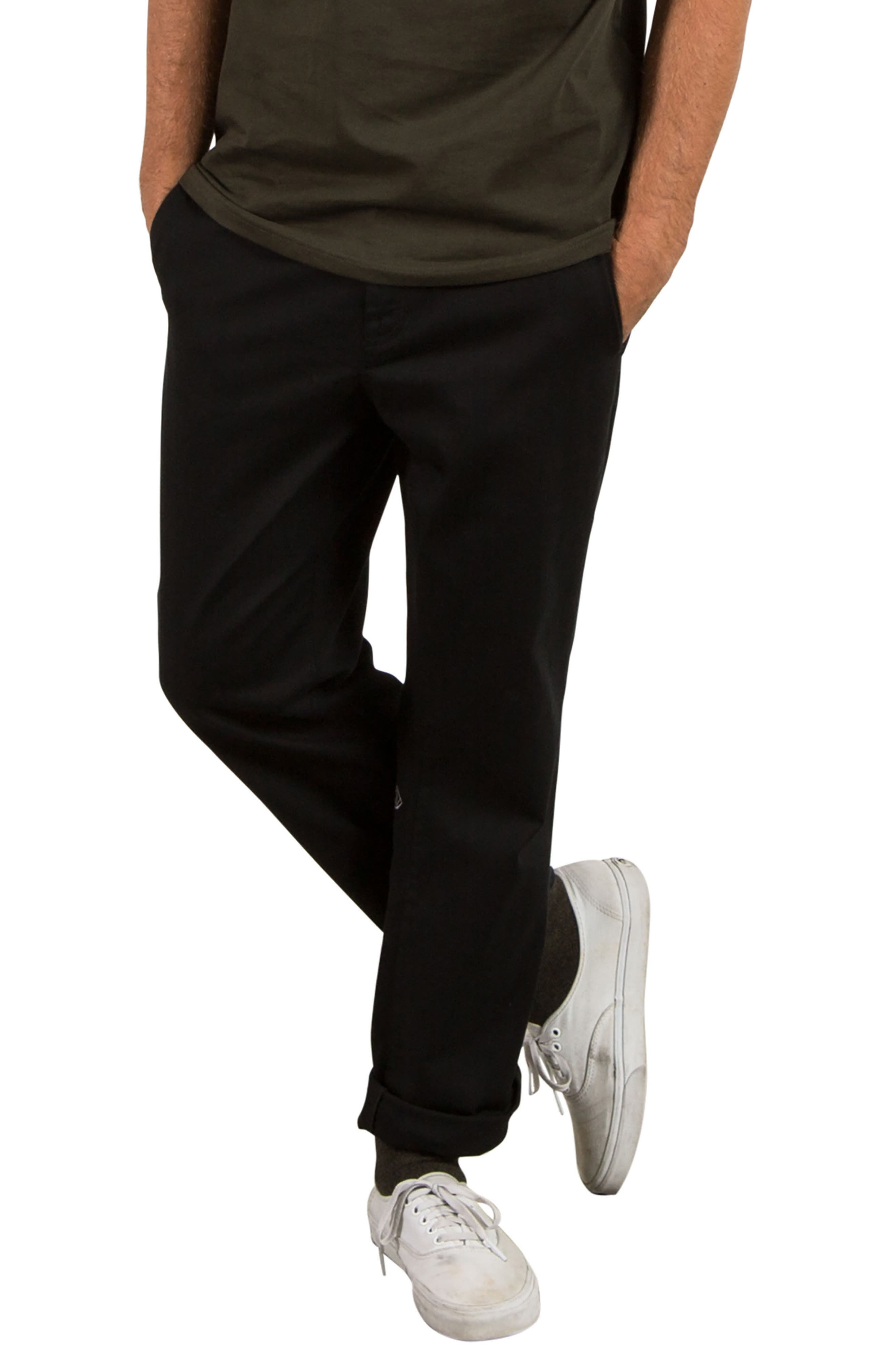 Modern Chinos,                         Main,                         color, Black