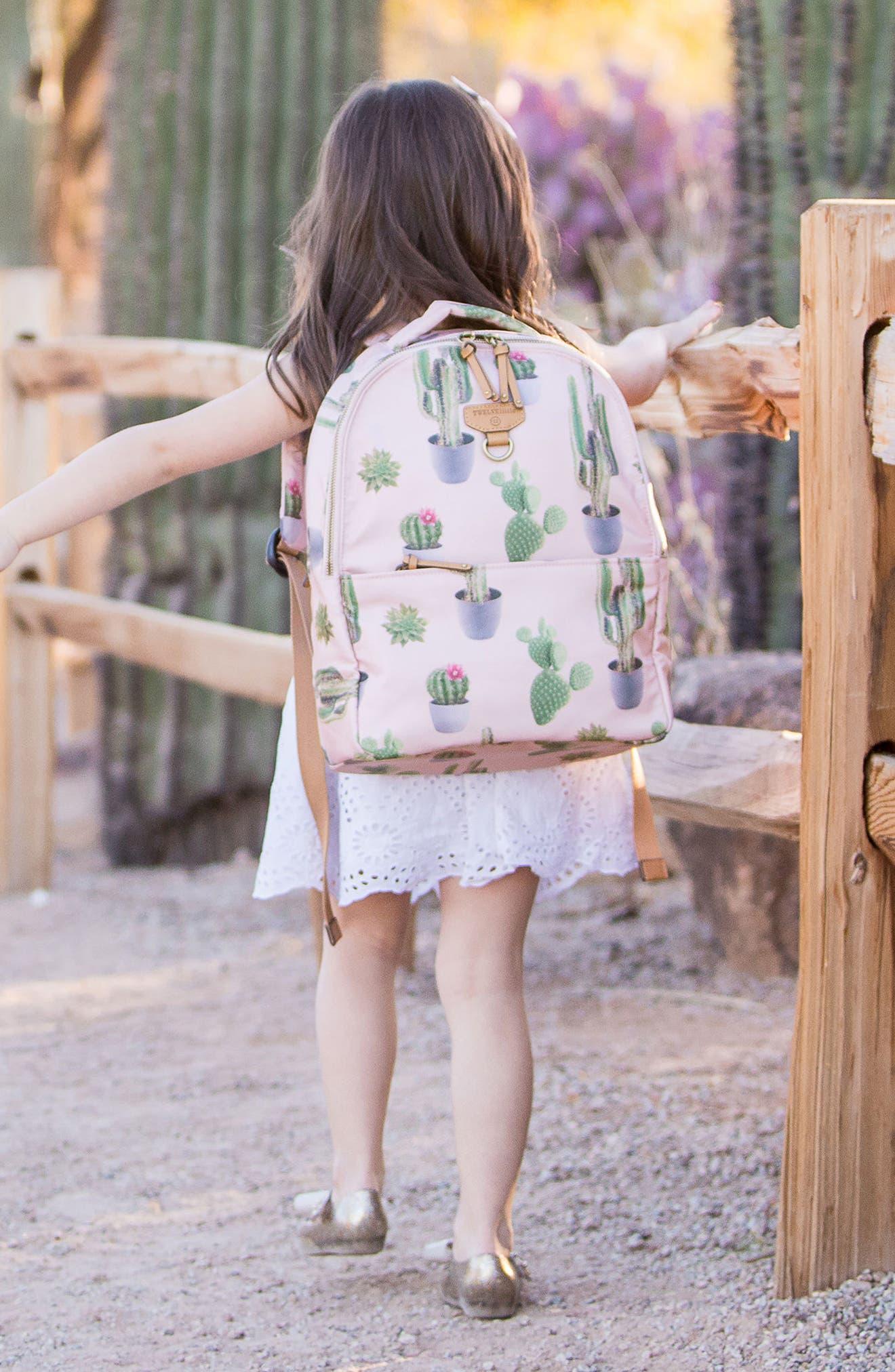 Mini-Go Water Resistant Diaper Backpack,                             Alternate thumbnail 5, color,