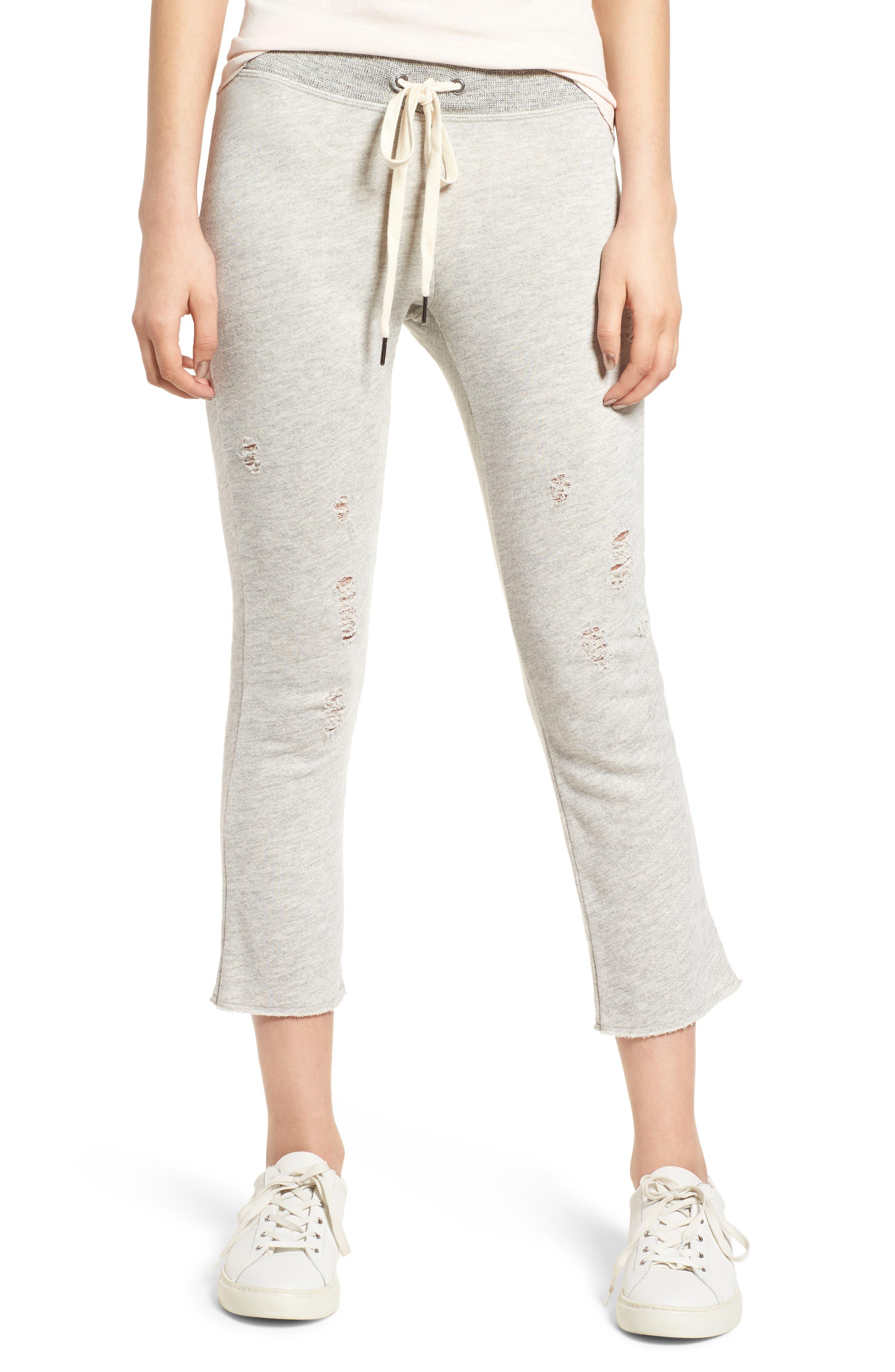 n:PHILANTHROPY Nikkita Deconstructed Crop Flare Sweatpants