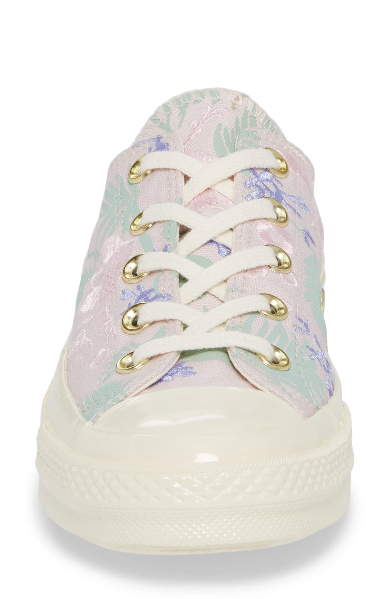 Chuck Taylor<sup>®</sup> All Star<sup>®</sup> 70 Palm Print Low Top Sneaker,                             Alternate thumbnail 4, color,                             Barely Rose