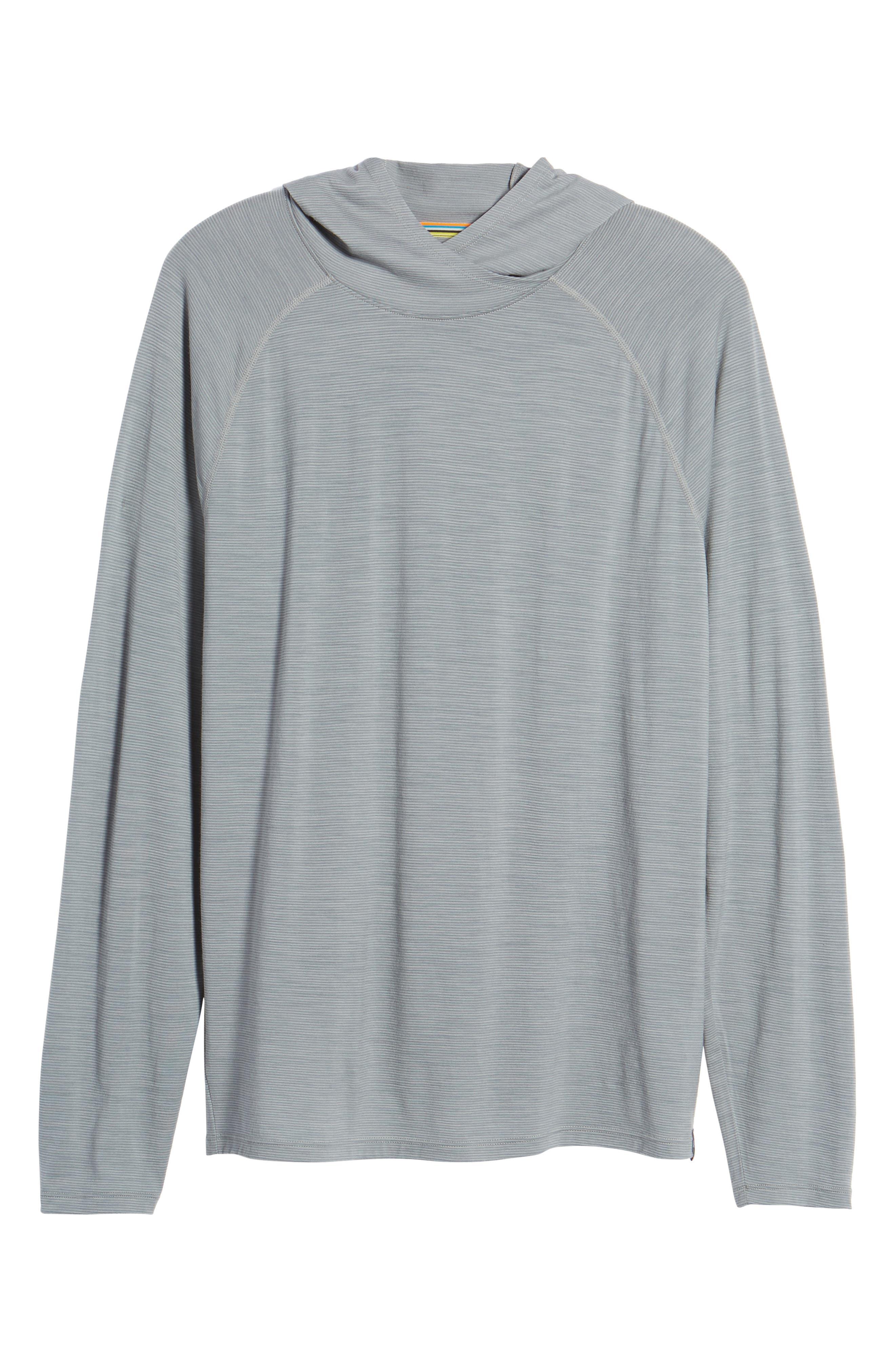Merino 150 Wool Blend Hoodie,                         Main,                         color, Light Gray
