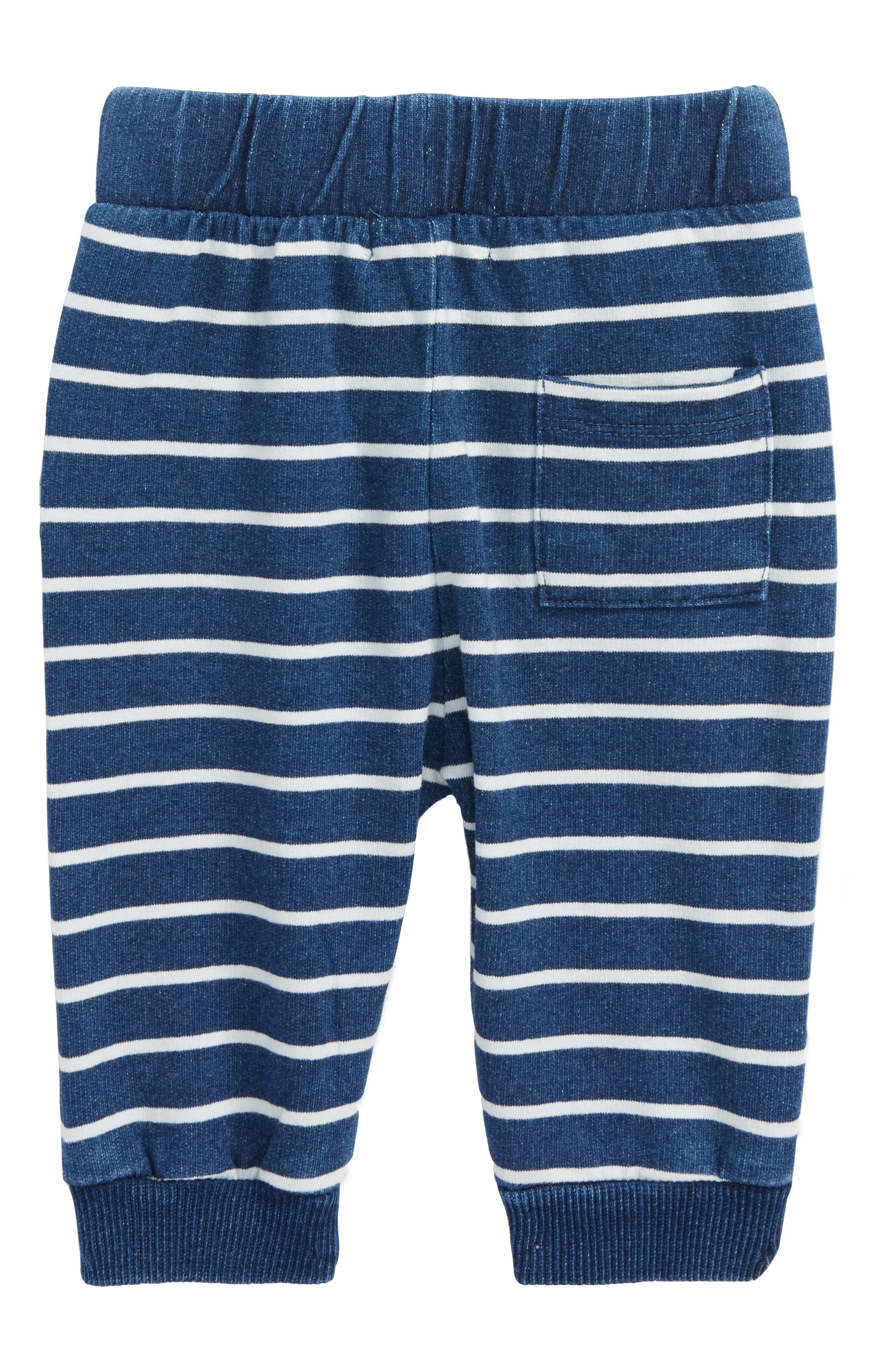 Alternate Image 2  - Miles Baby Stripe Pants (Baby Boys)