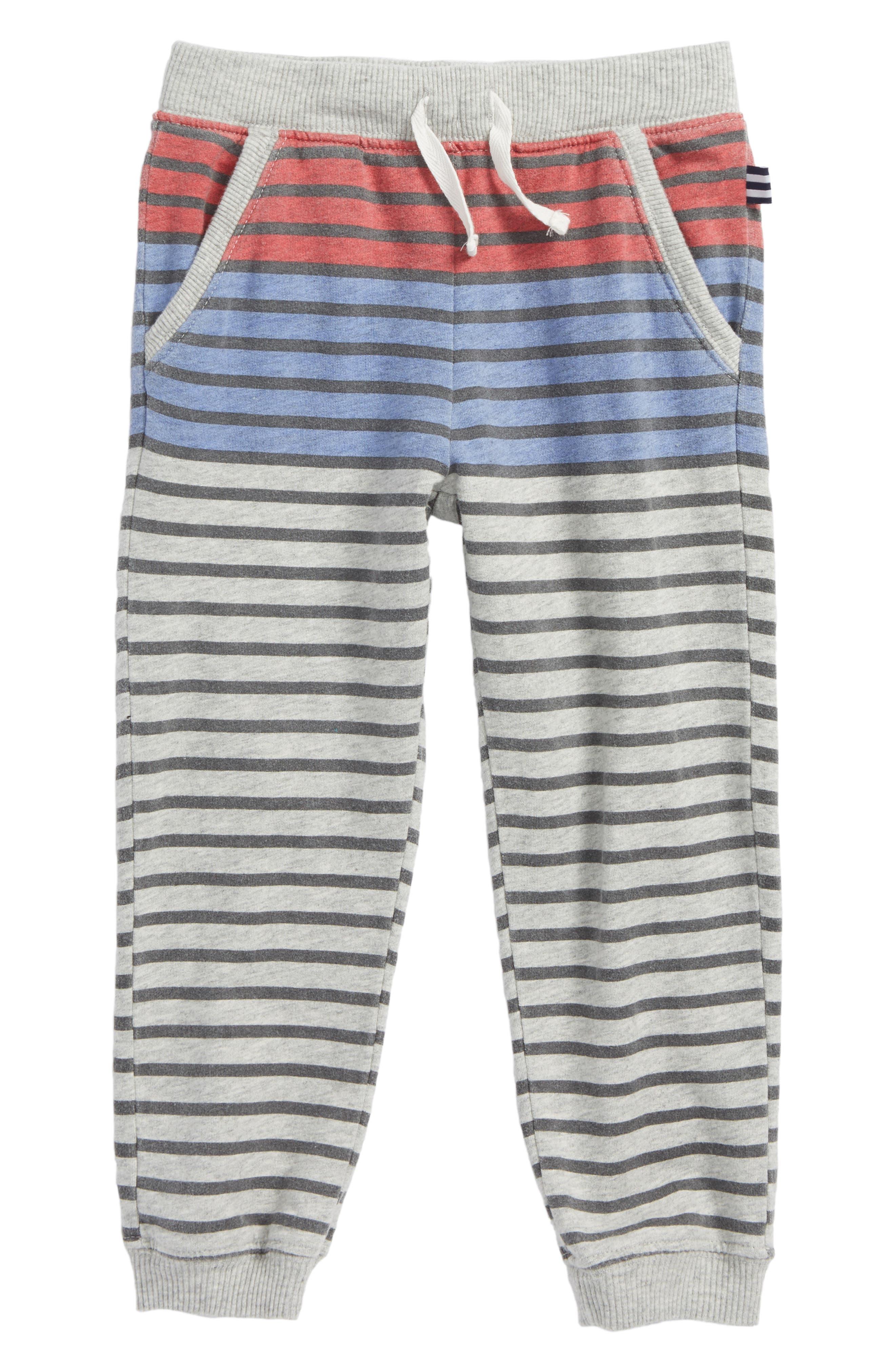 Splendid Stripe French Terry Sweatpants (Toddler Boys & Little Boys)