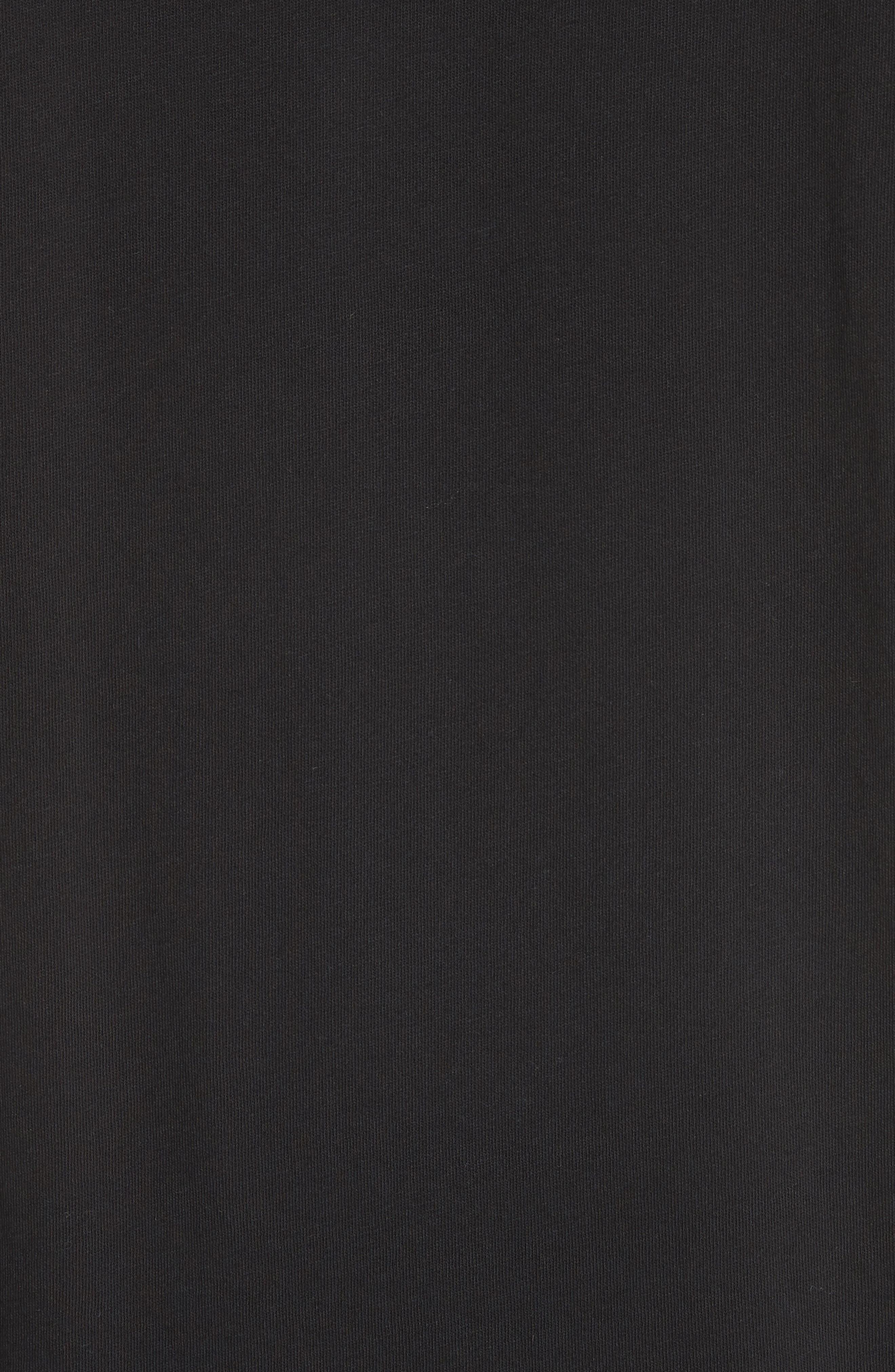 Perfect T-Shirt,                             Alternate thumbnail 5, color,                             Black