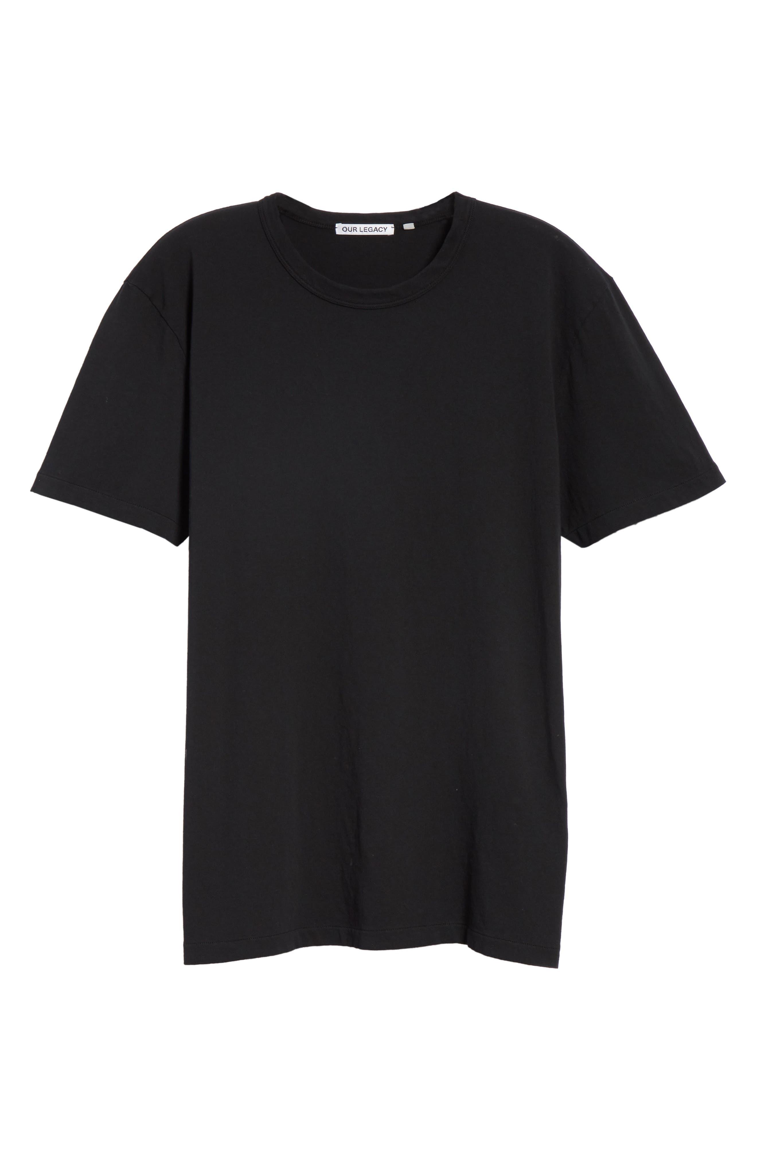 Perfect T-Shirt,                             Alternate thumbnail 6, color,                             Black