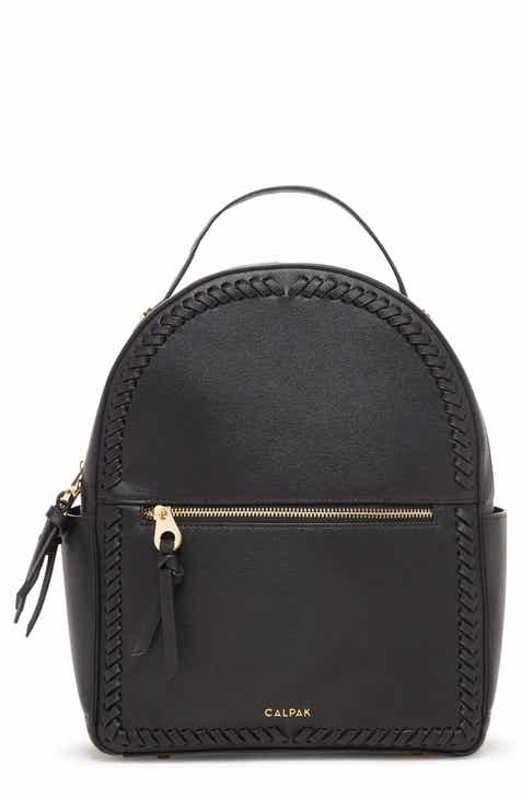 CALPAK Kaya Faux Leather Round Backpack 0306756aabd6b
